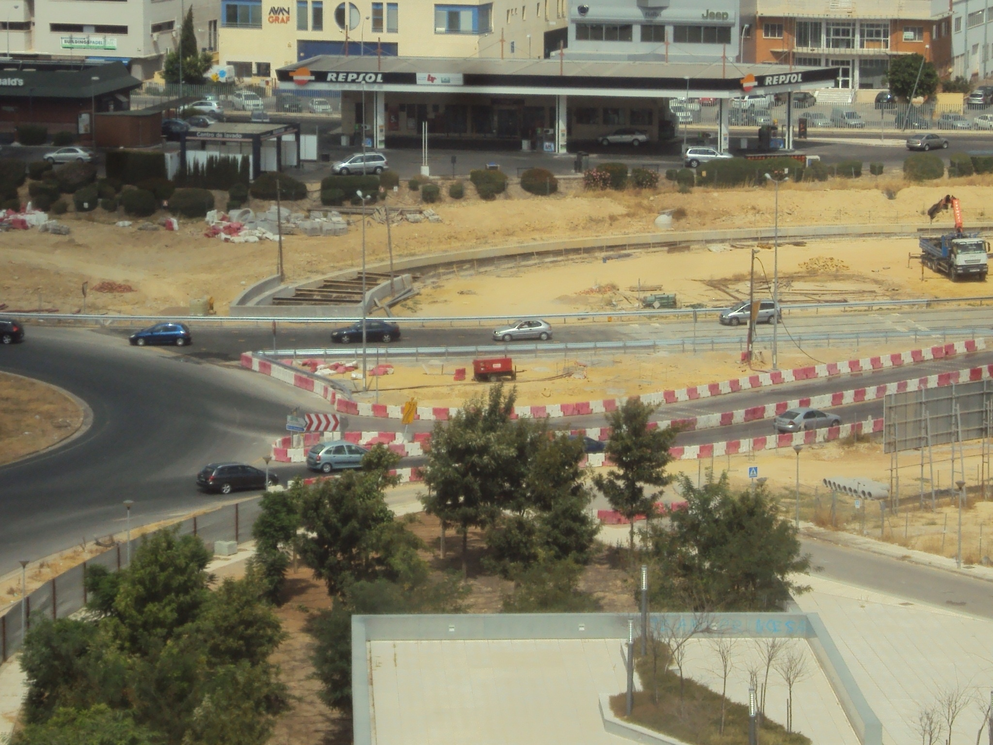 La Junta restituye el tráfico en los accesos al Polígono Industrial Pisa y Ciudad Expo en Mairena del Aljarafe