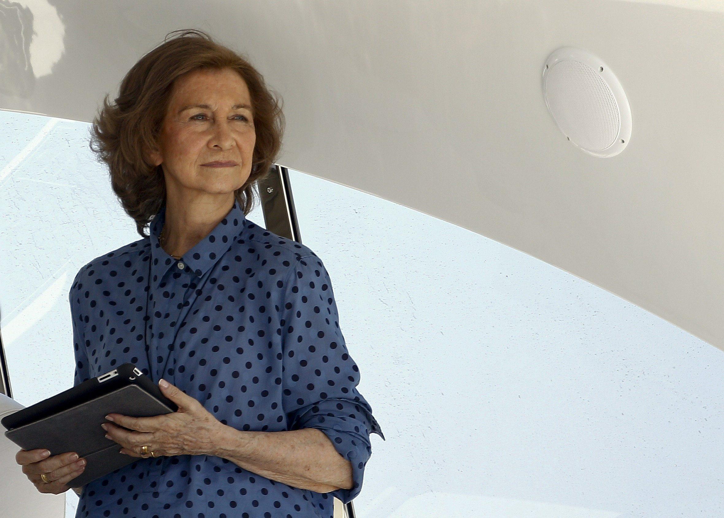 La Reina propone recoger alimentos en los cruceros que atracan en Palma