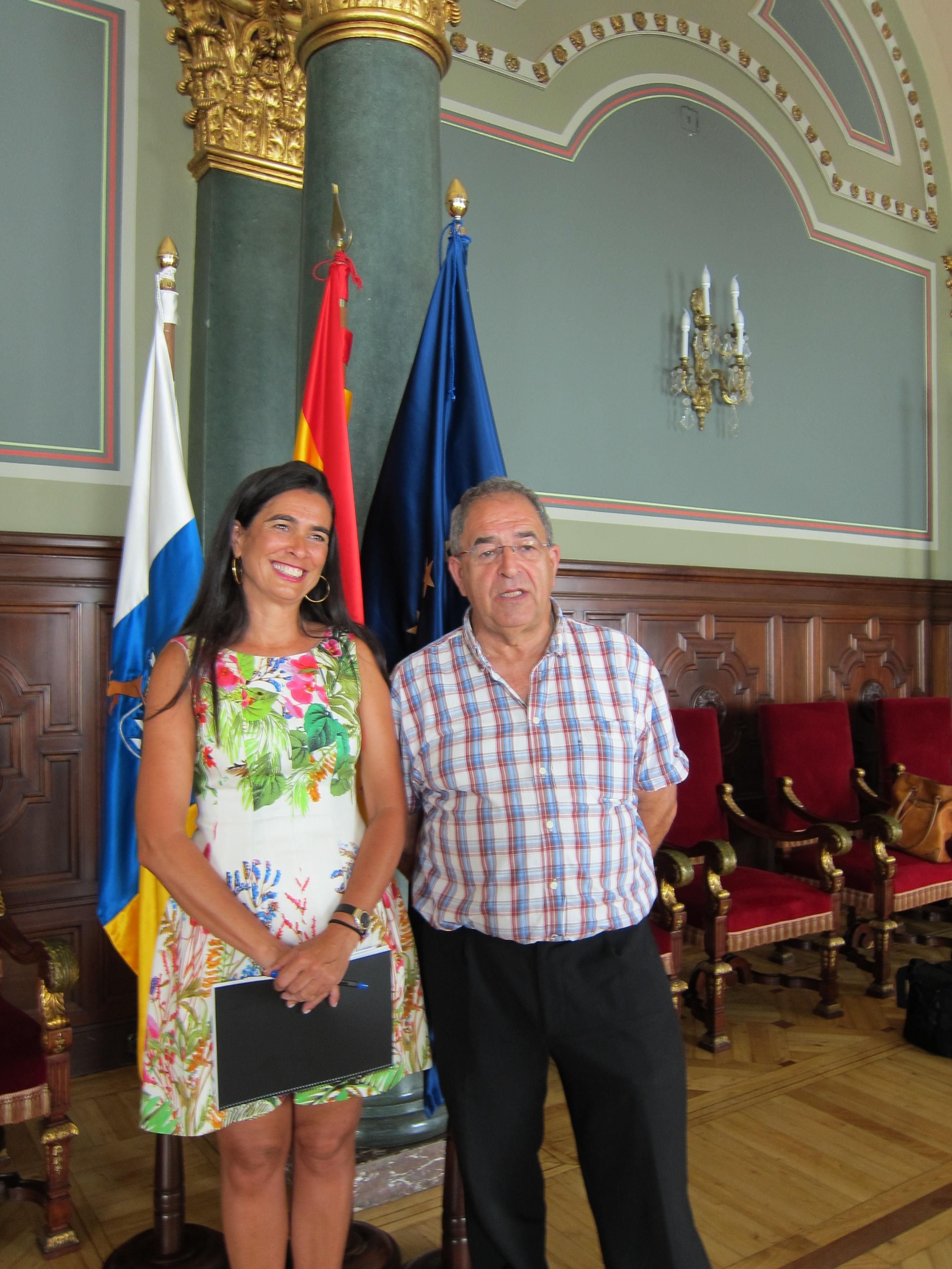 El alcalde de Teror pide colaboración y apoyo económico al Gobierno de Canarias para las Fiestas del Pino