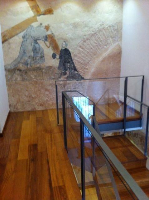 Turismo organiza el sábado una visita al Santuario de Santa Eulalia, con las pinturas restauradas