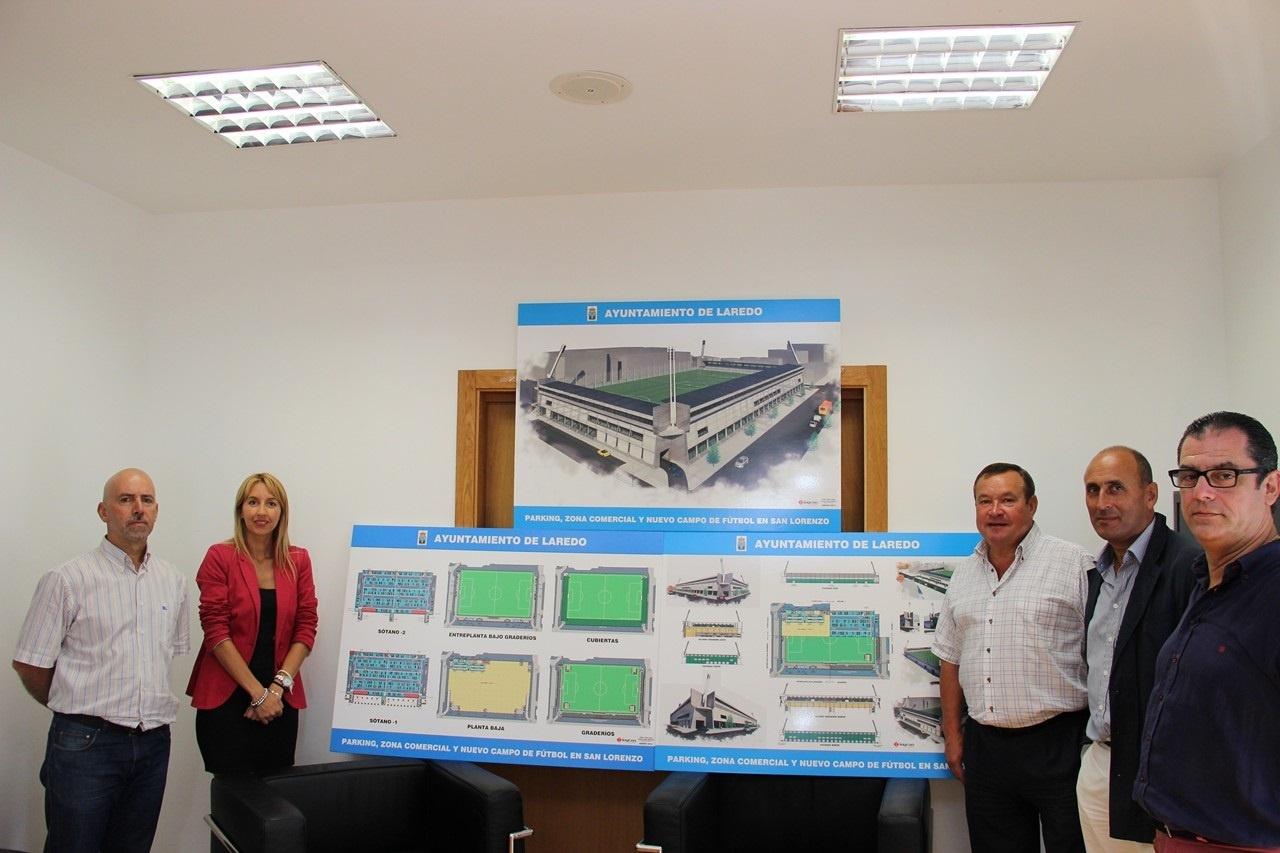El alcalde considera «viable a muy corto plazo» la construcción del nuevo San Lorenzo