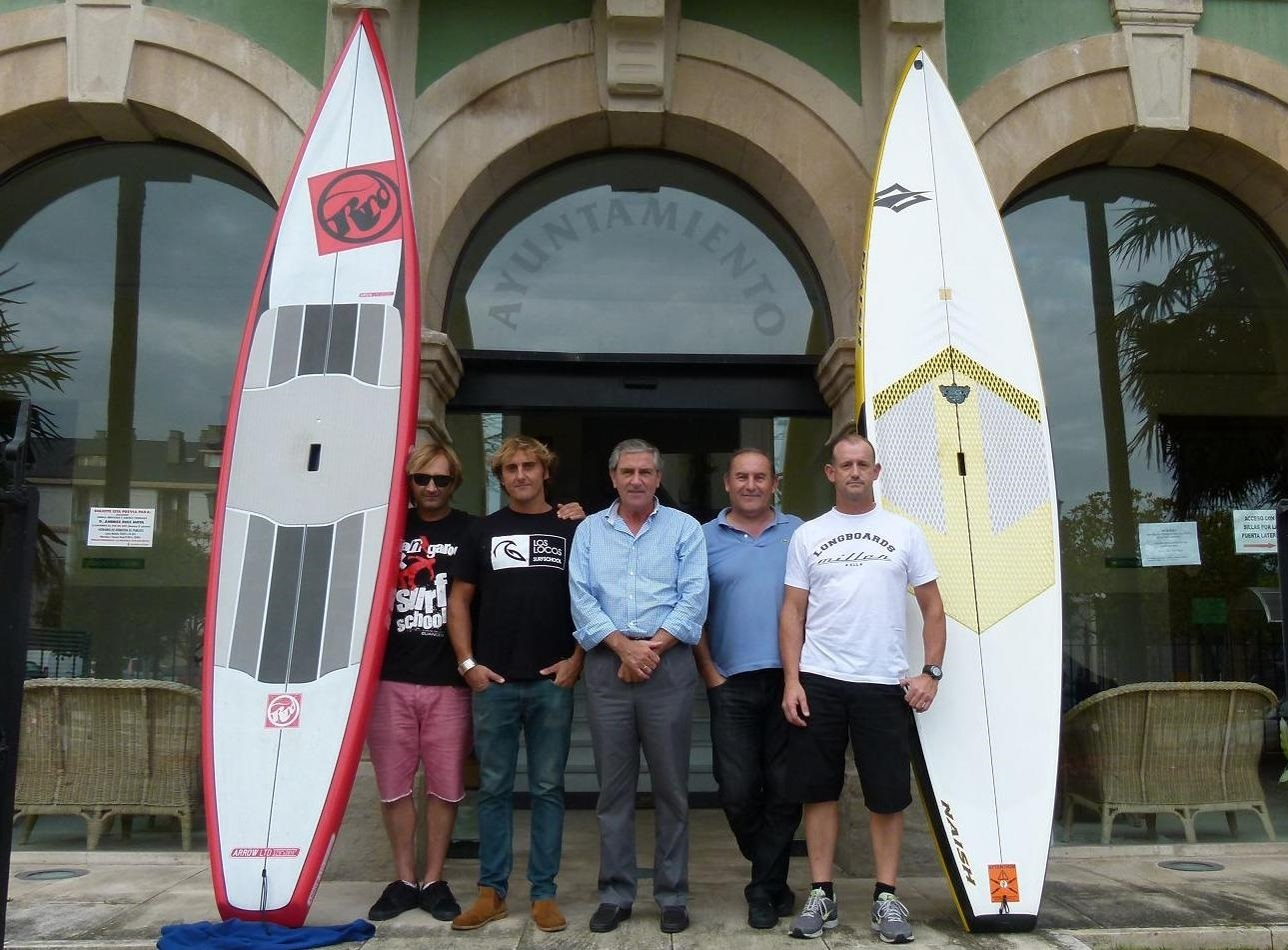 El circuito europeo SUP-RACE de surf con remos visita Cantabria este fin de semana