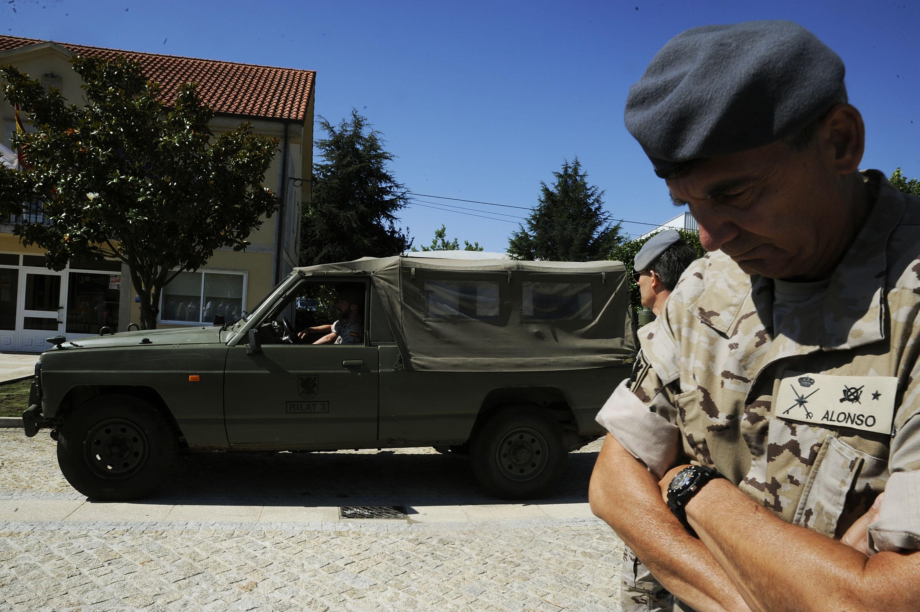 (AM) Xunta atribuye a los incendiarios acciones «con carácter homicida» por poner en riesgo viviendas y personas