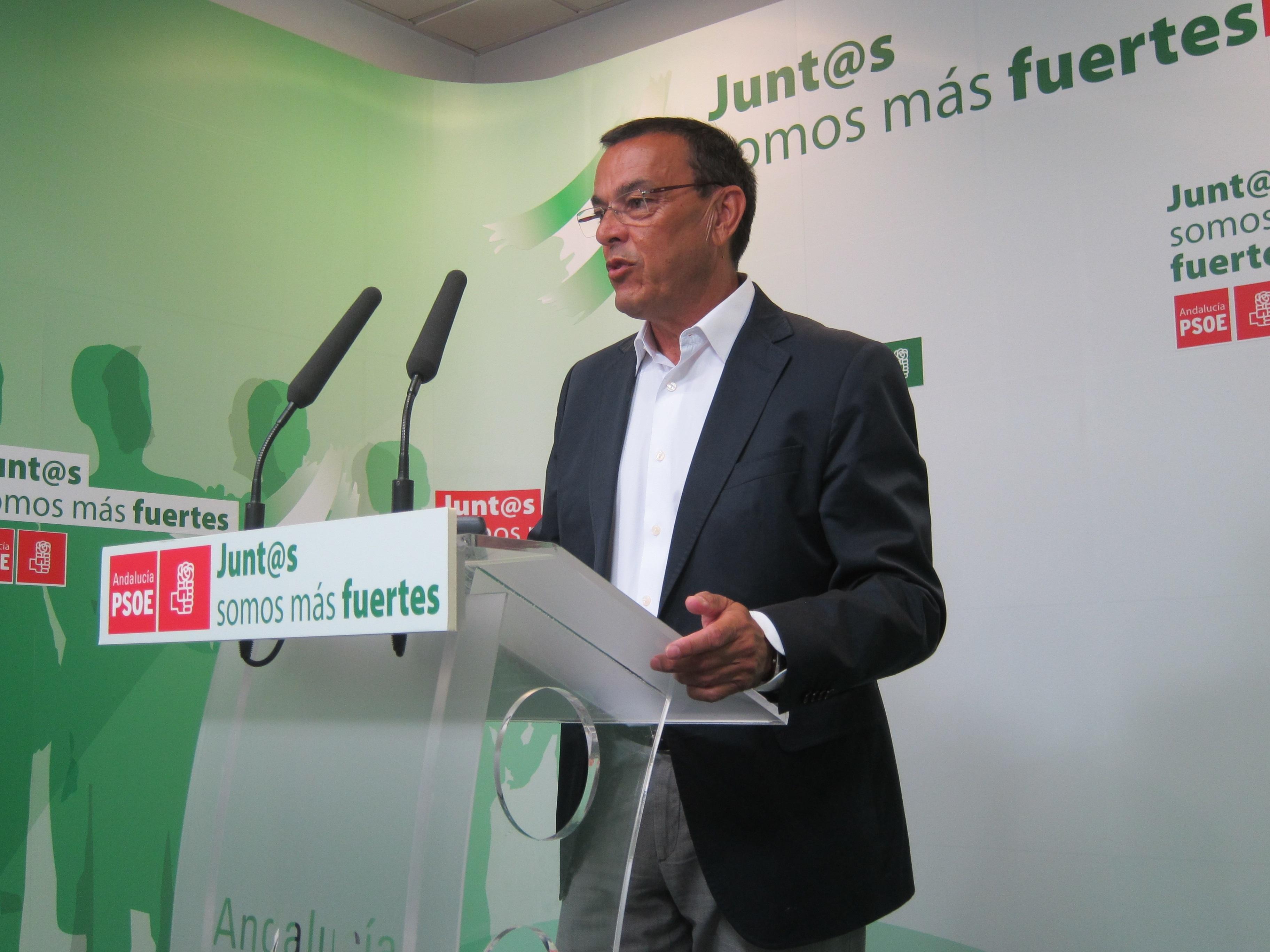 Caraballo (PSOE) destaca que los regadíos del Condado son «un problema que la Junta tiene encauzado»
