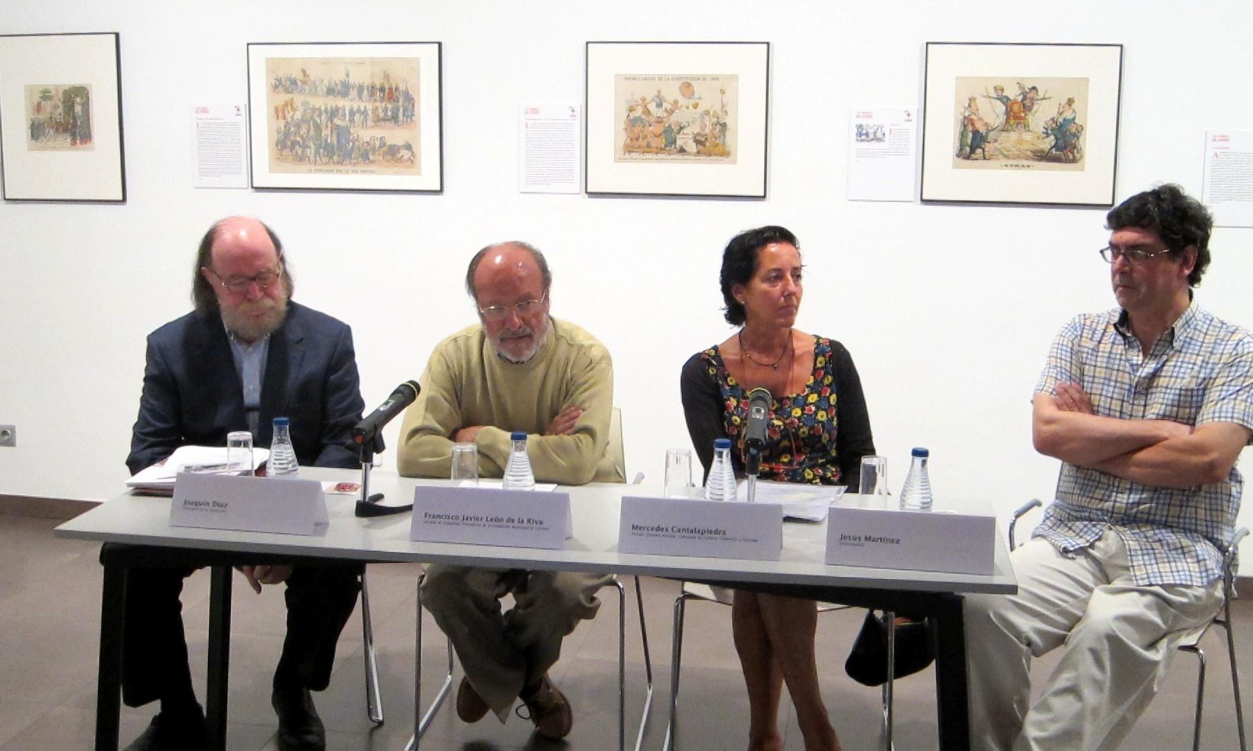 La Casa Revilla de Valladolid muestra un recorrido «satírico» por la historia de España a través de ilustraciones