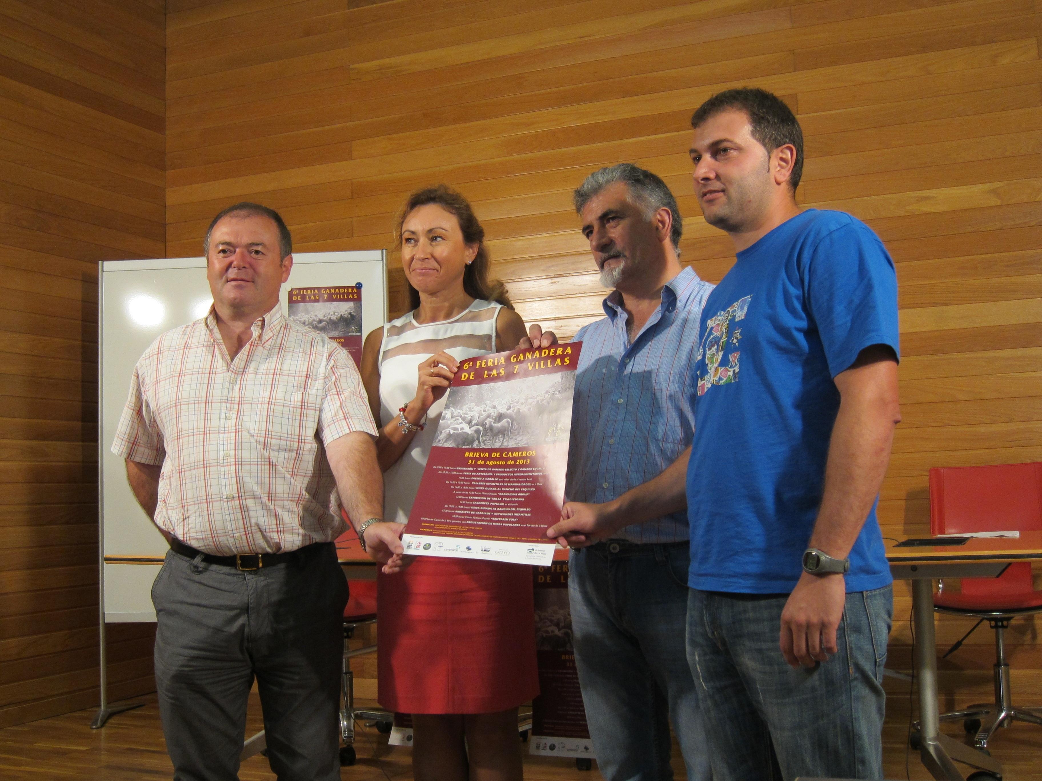 Cerca de 1.600 cabezas de ganado selecto y local se reunirán para la VI Feria Ganadera de las 7 Villas
