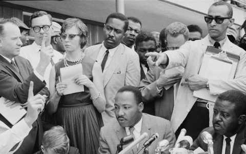 El hombre que ayudó a Martin Luther King a escribir «Yo tengo un sueño»