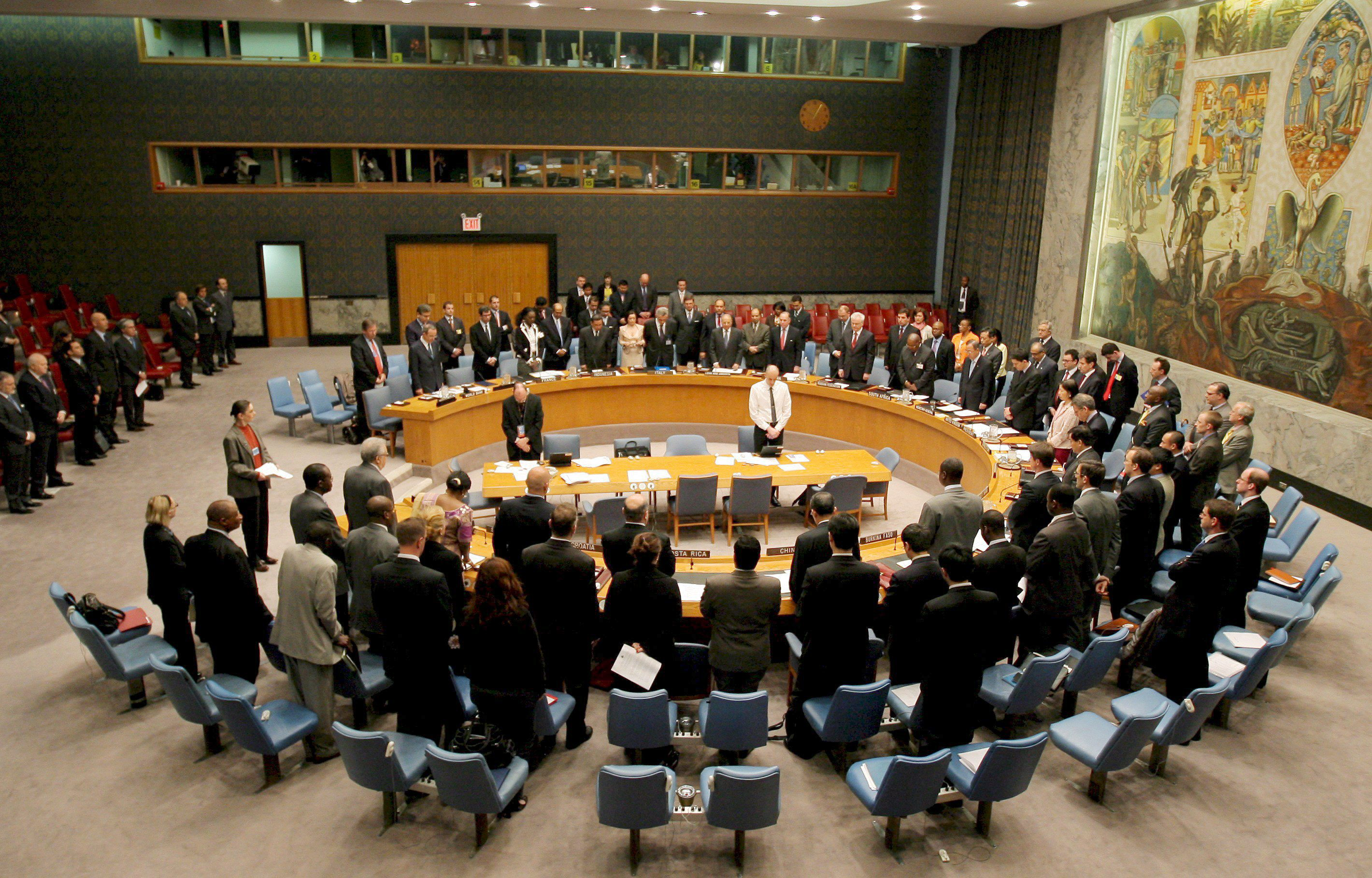 Concluye sin avances la reunión de los cinco permanentes de Consejo de Seguridad