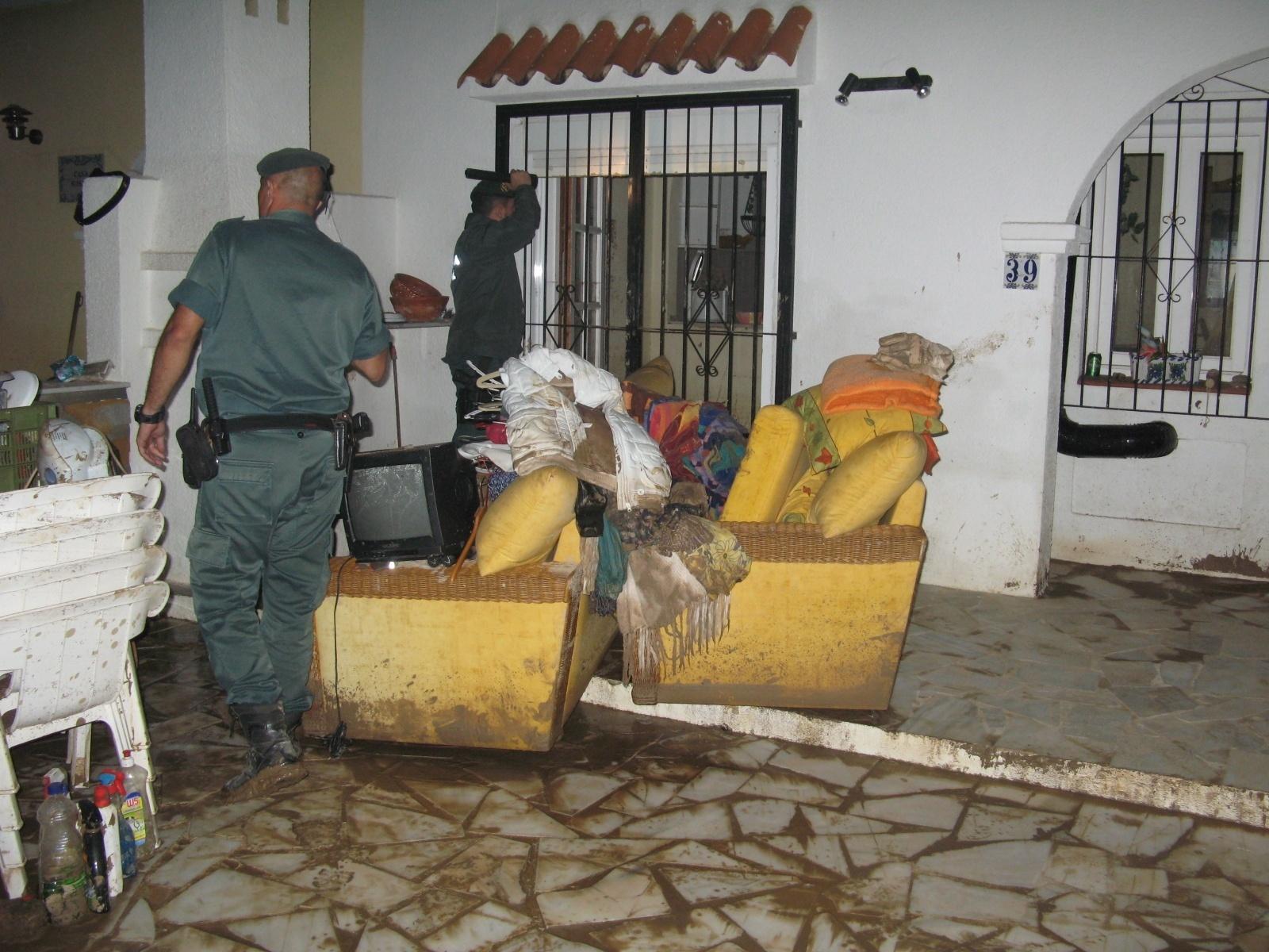 El Consorcio de Compensación de Seguros abona 68,3 millones por los daños de las riadas mortales de septiembre