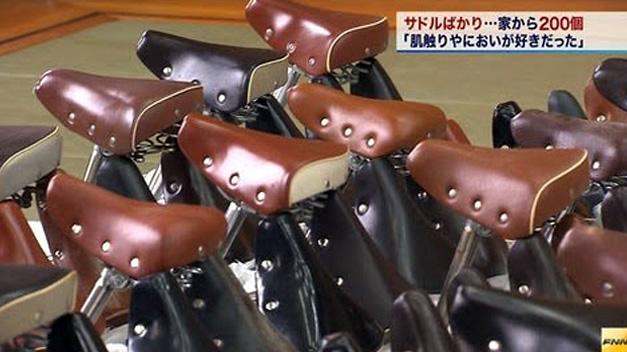 Detienen a un japonés que robó 200 sillines de bicicletas de mujer «para oler su aroma»