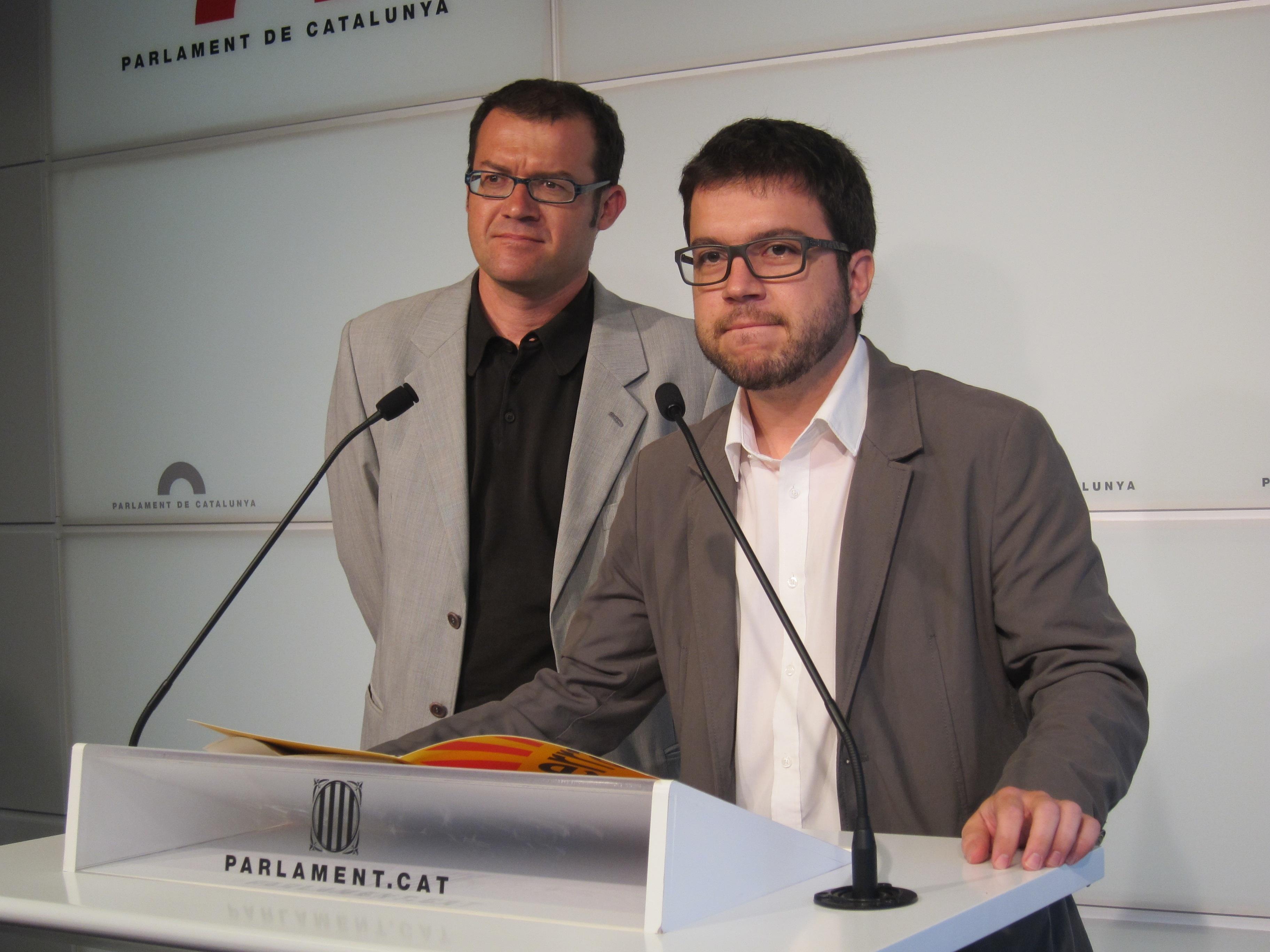 ERC quiere que el Gobierno catalán fije la pregunta y la fecha de la consulta tras la cadena humana