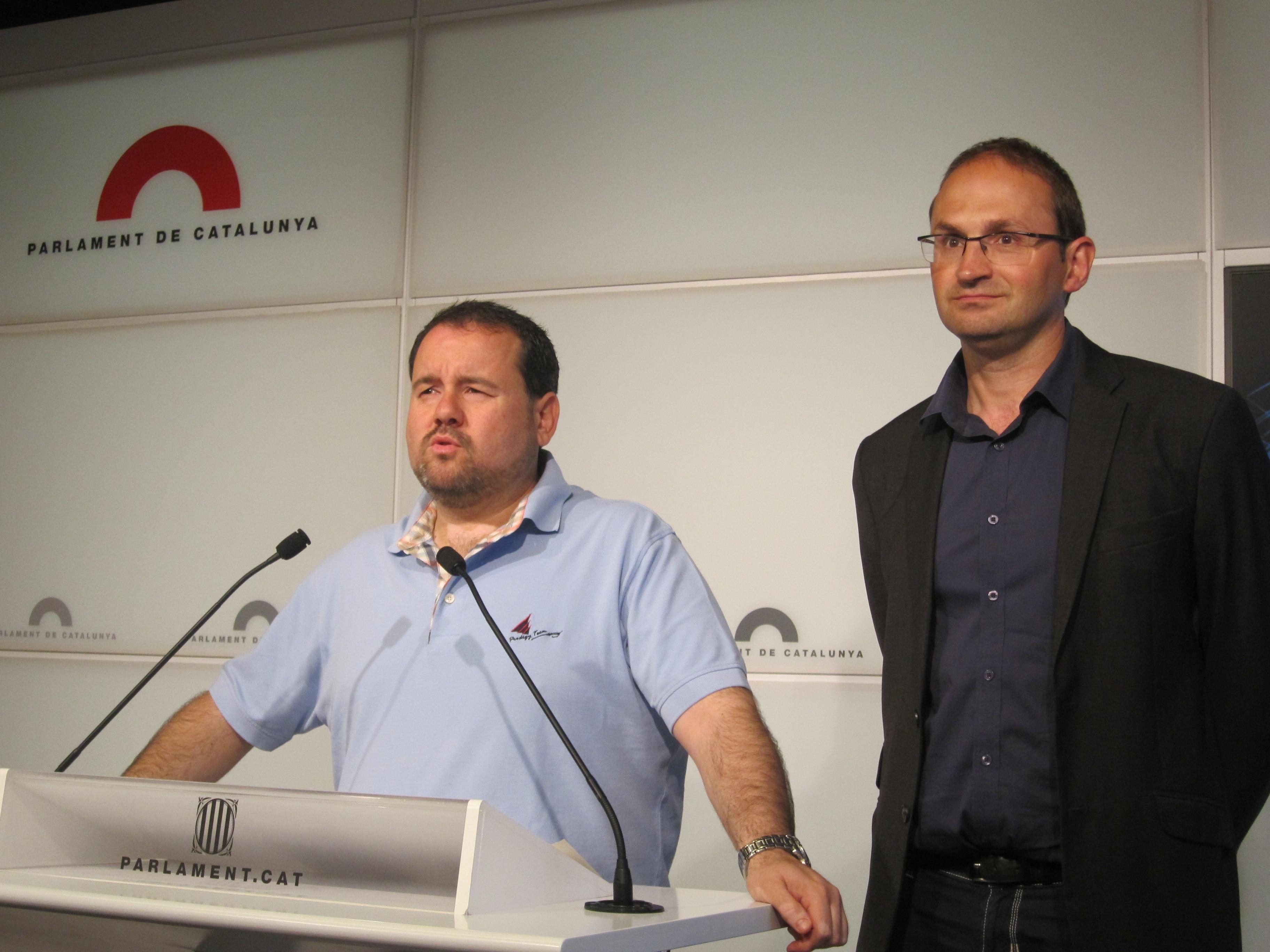 EUiA lamenta que la prórroga de los Presupuestos en Cataluña «sentencie de muerte» la cohesión social