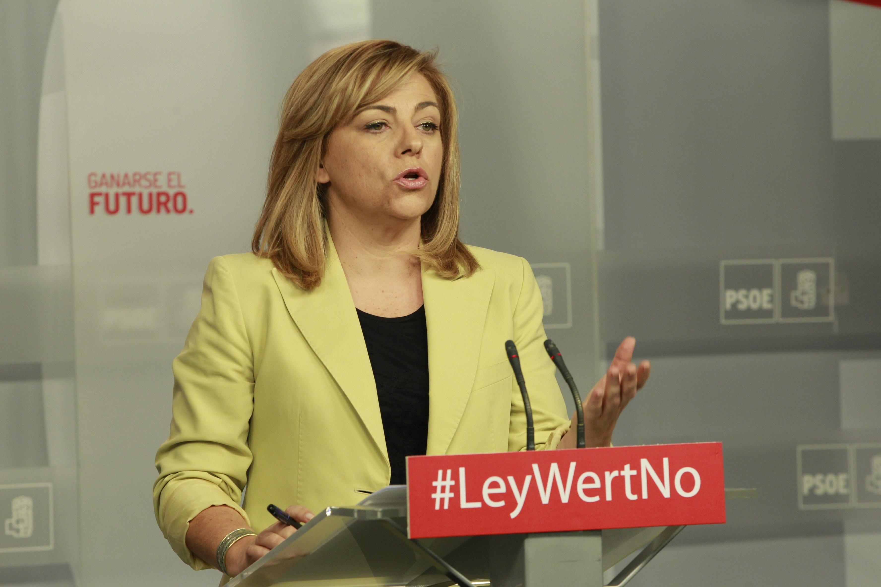 Elena Valenciano defiende el derecho de Cristina Cifuentes a ser atendida en la sanidad pública