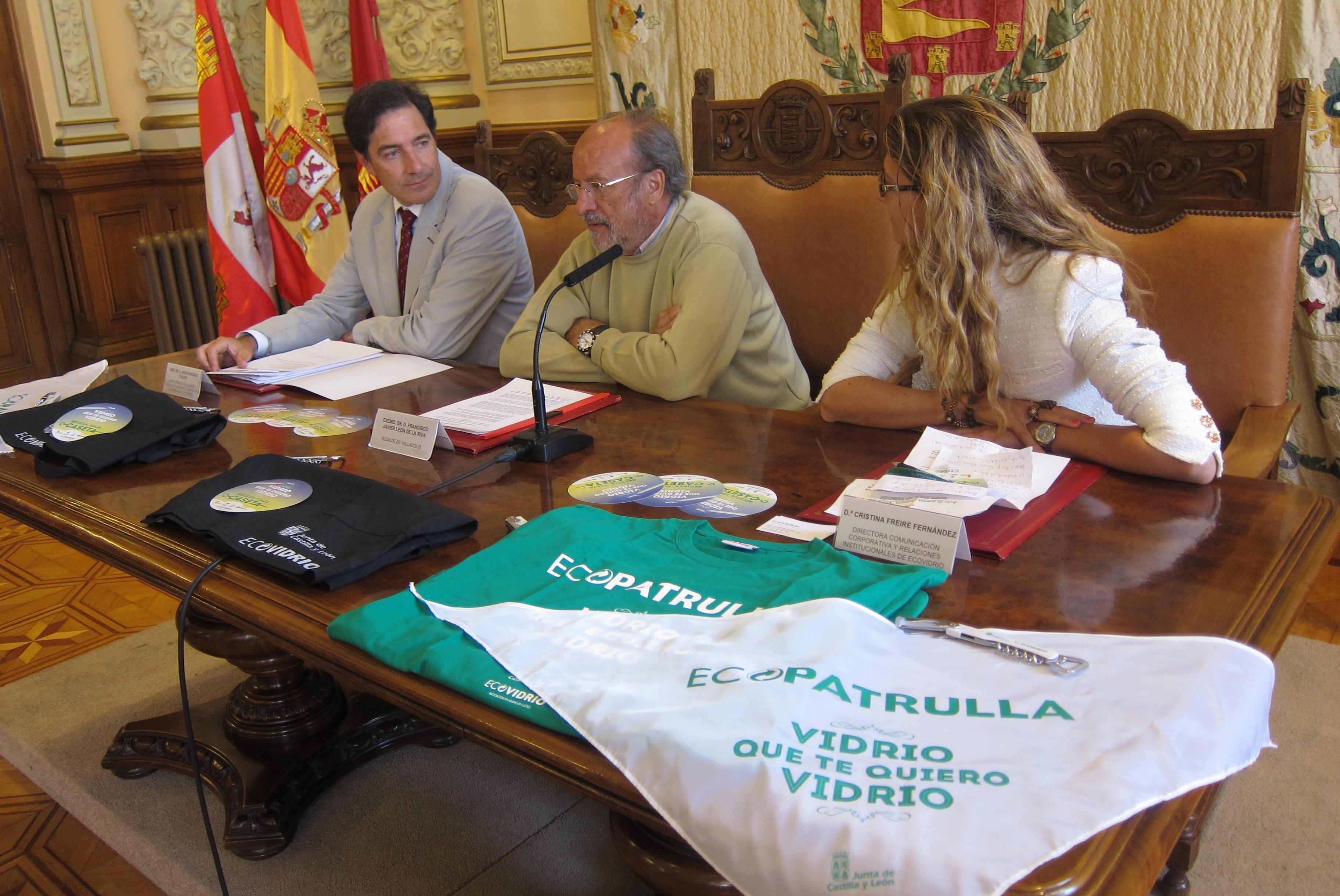 Cada caseta regional y de la Feria de Día de Valladolid tendrá un cubo especial de vidrio para mejorar el reciclaje