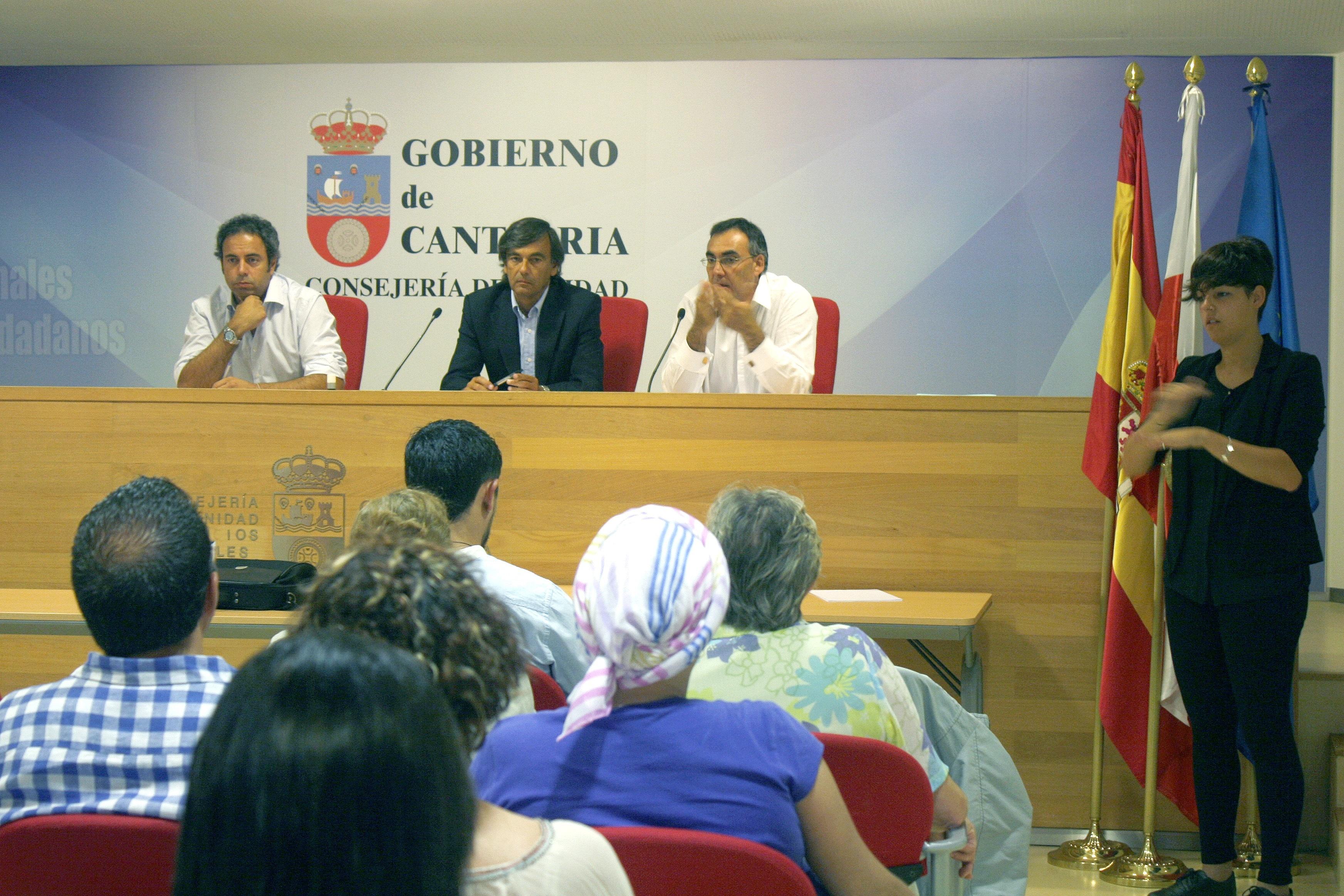El Gobierno de Cantabria dotará a la comunidad autónoma de una ley de salud pública propia