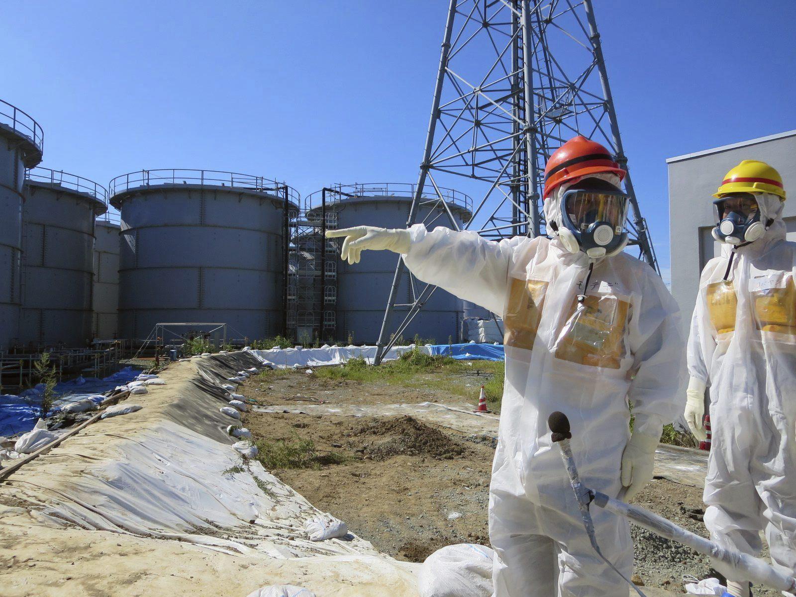 TEPCO informa que hay otra vía de escape del agua radiactiva de Fukushima-1