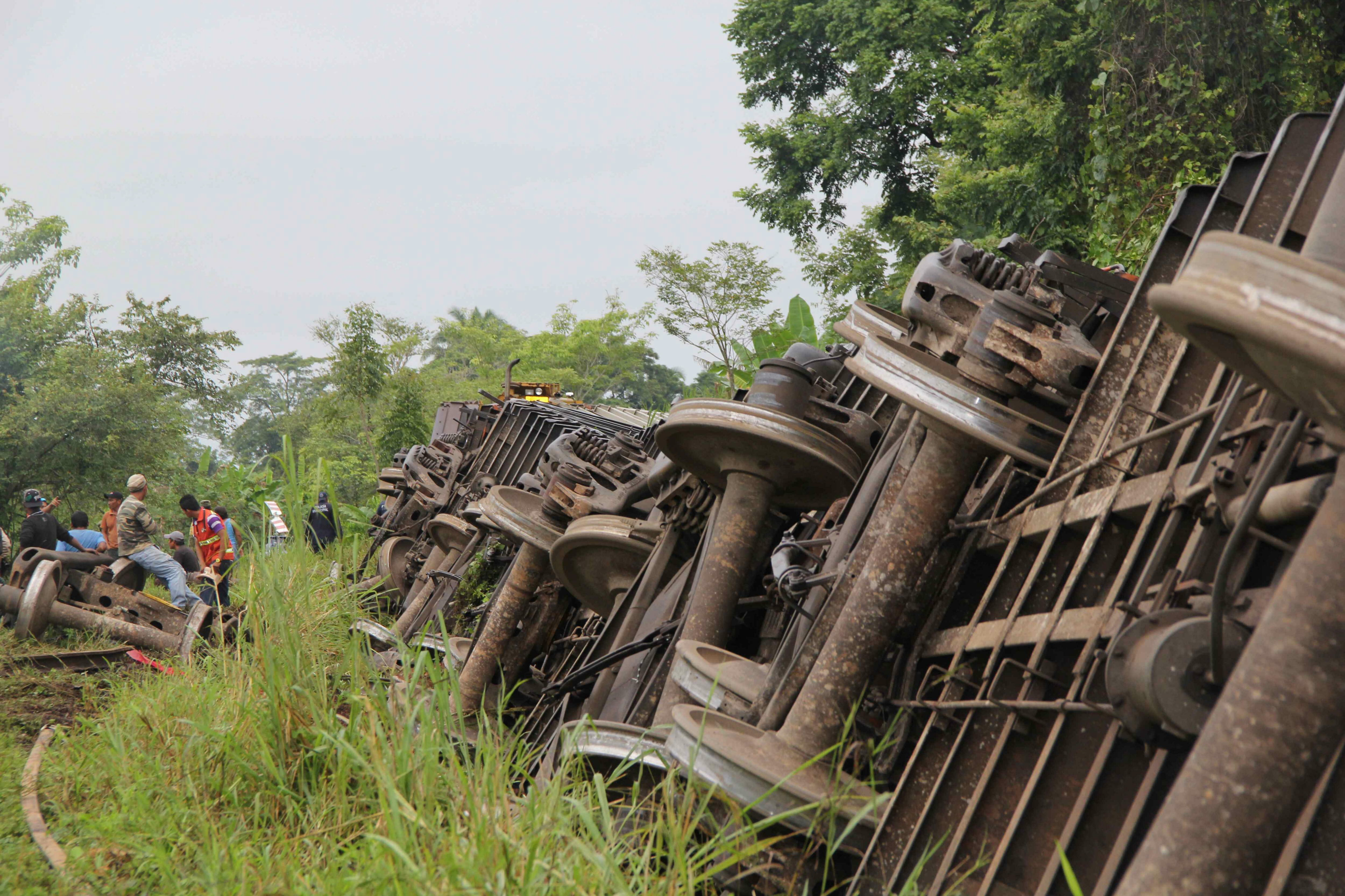 México defiende su atención a los indocumentados en el accidente de tren