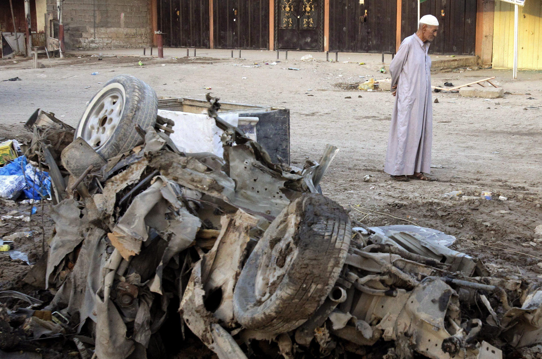 Once muertos y cincuenta heridos en una cadena de atentados en Bagdad