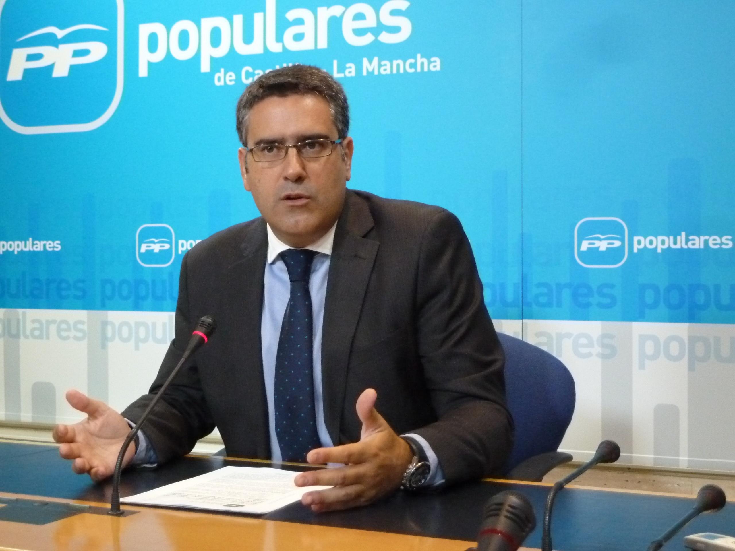 PP de C-LM lamenta que el PSOE siga «buscando enfrentamientos entre regiones y entre municipios» por el agua