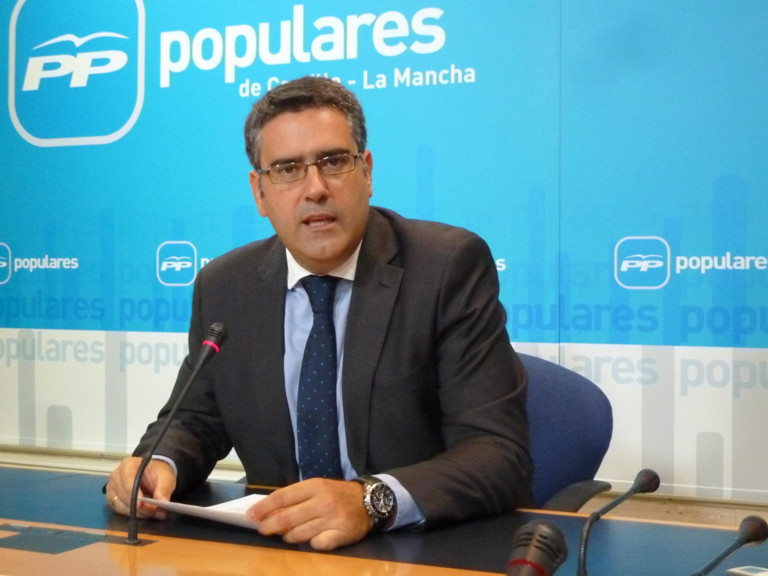 PP pide al PSOE que no se ponga «nervioso» con el Debate de la Región porque «quedarán al descubierto sus vergüenzas»