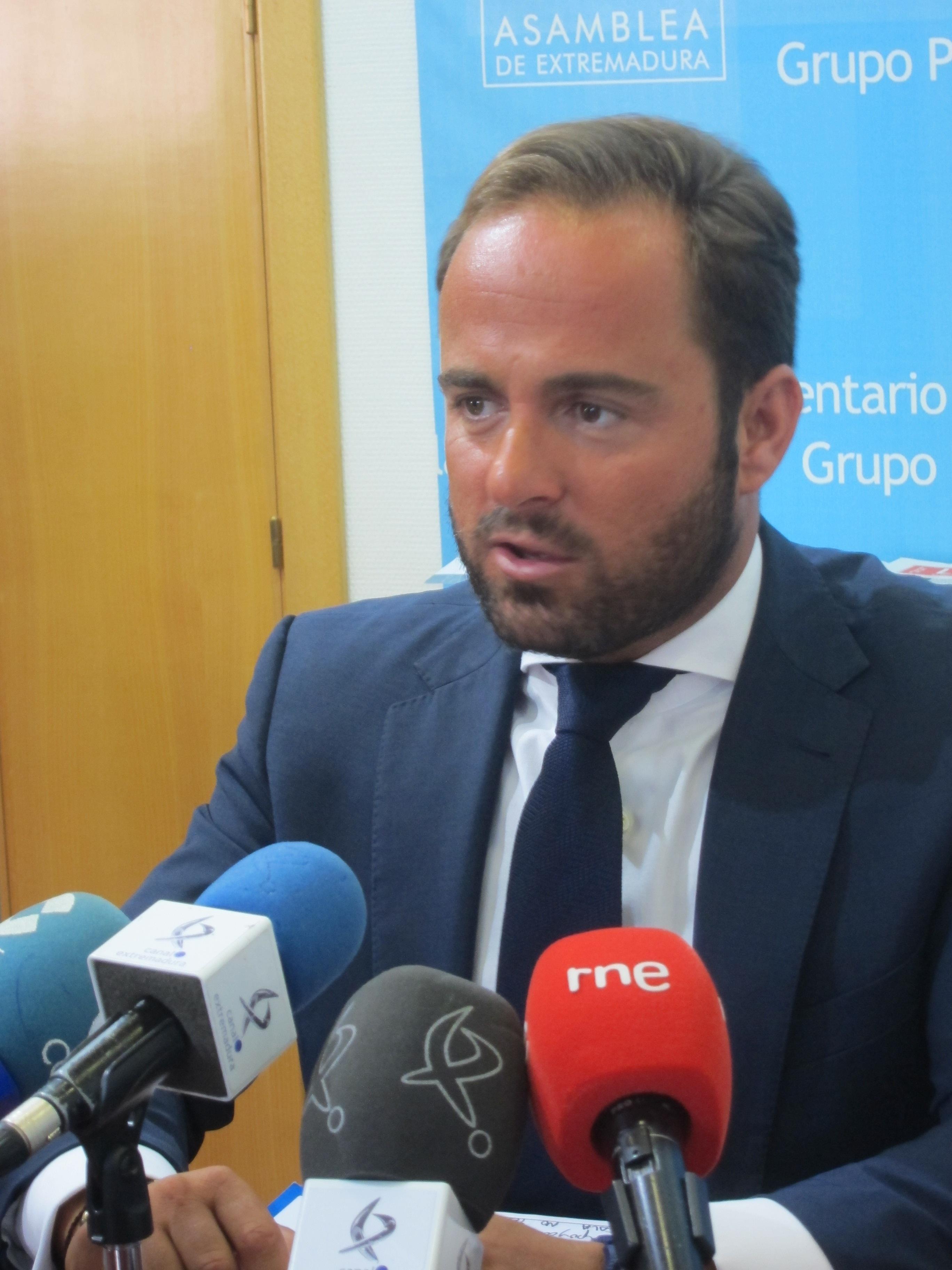 El PP considera «fundamental» llegar a un acuerdo con el PSOE para la elaboración de los presupuestos autonómicos