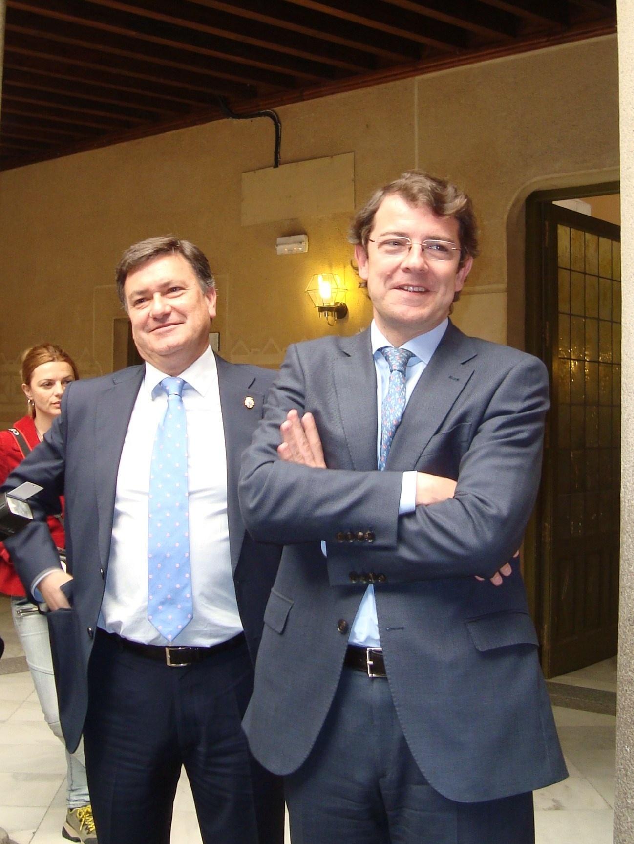 PP de Segovia abre mañana el curso político con una comida de hermandad a la que asistirán Fernández Mañueco y Clemente