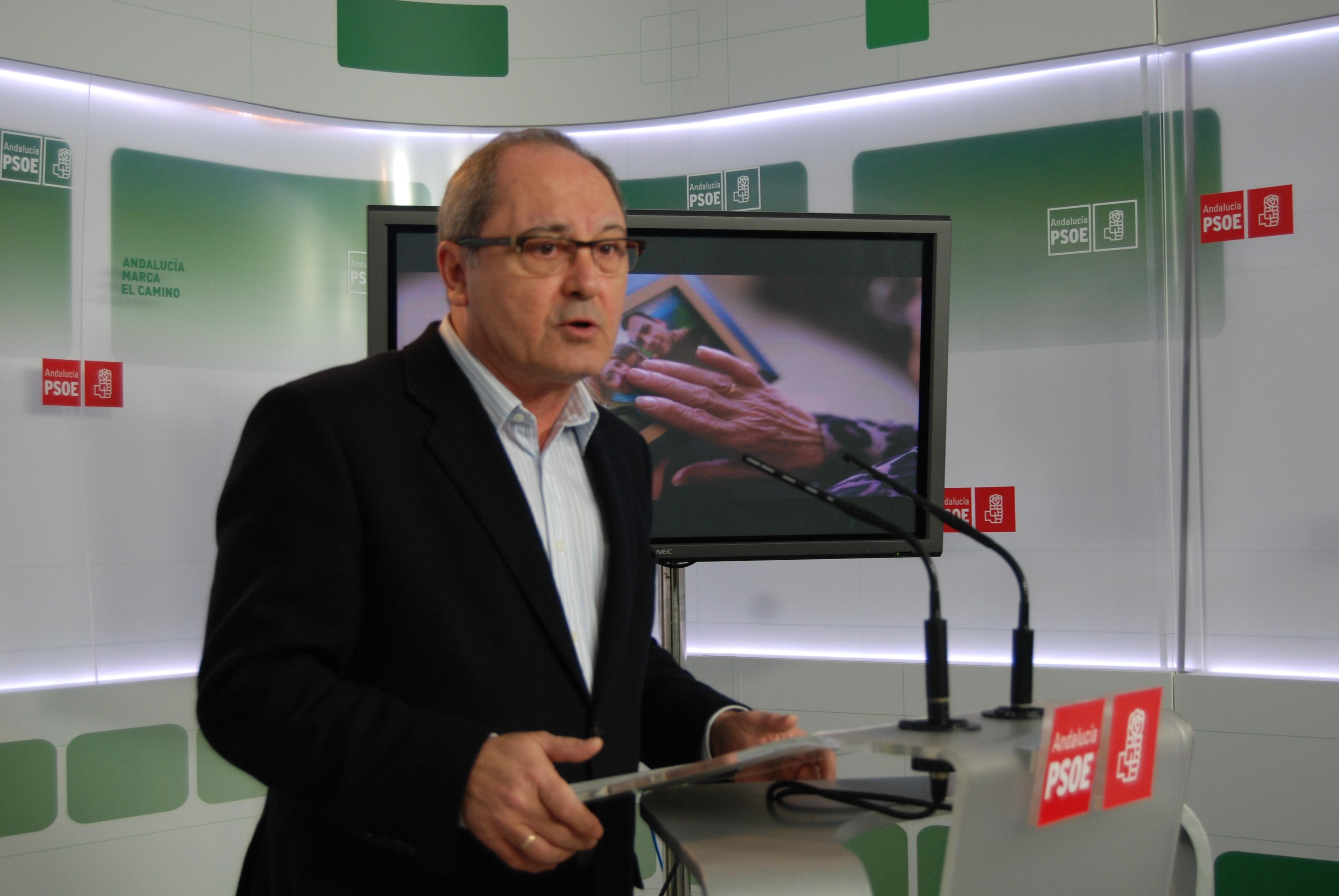 PSOE-A afirma que el PP-A no tiene «nada que aportar» porque está sumido en una «pelea interna para que Zoido se vaya»