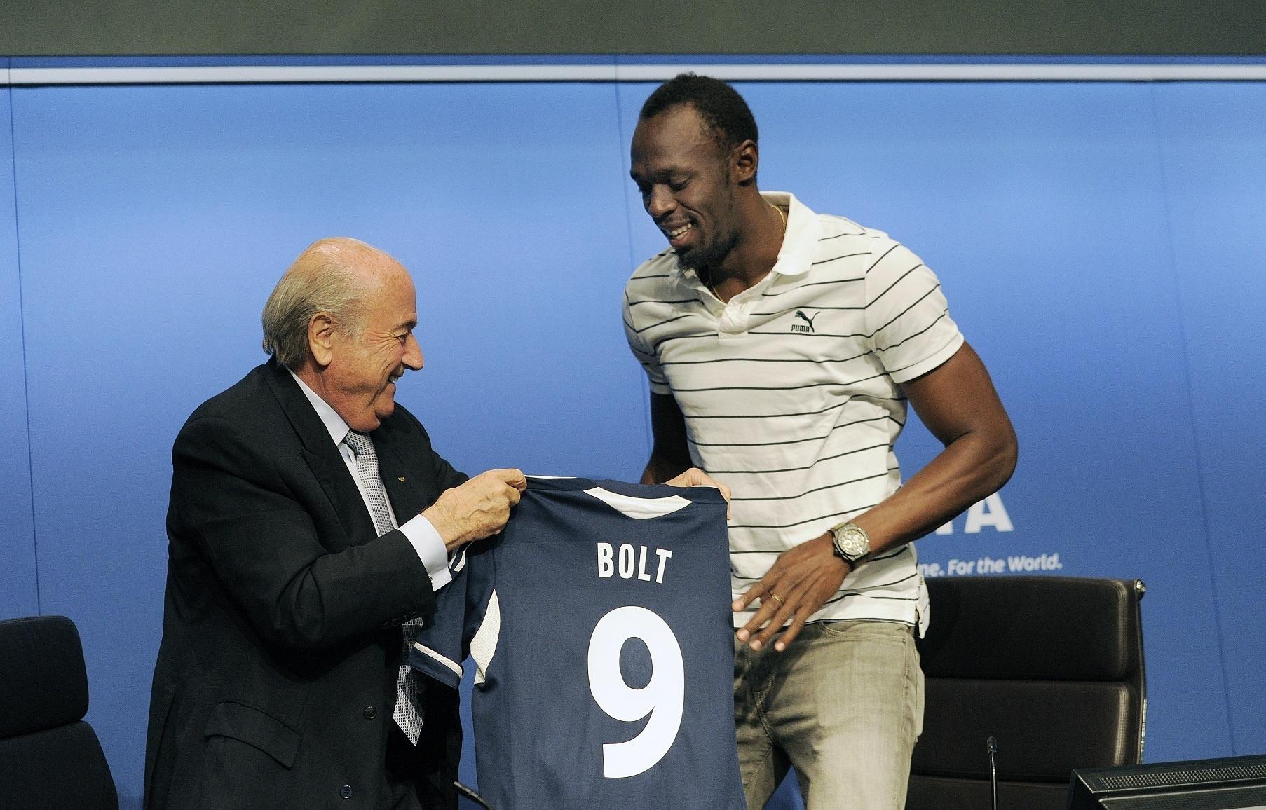 Bolt: «Me gustaría convertirme en un mito como Pelé, Maradona, Muhammad Ali o Michael Johnson»