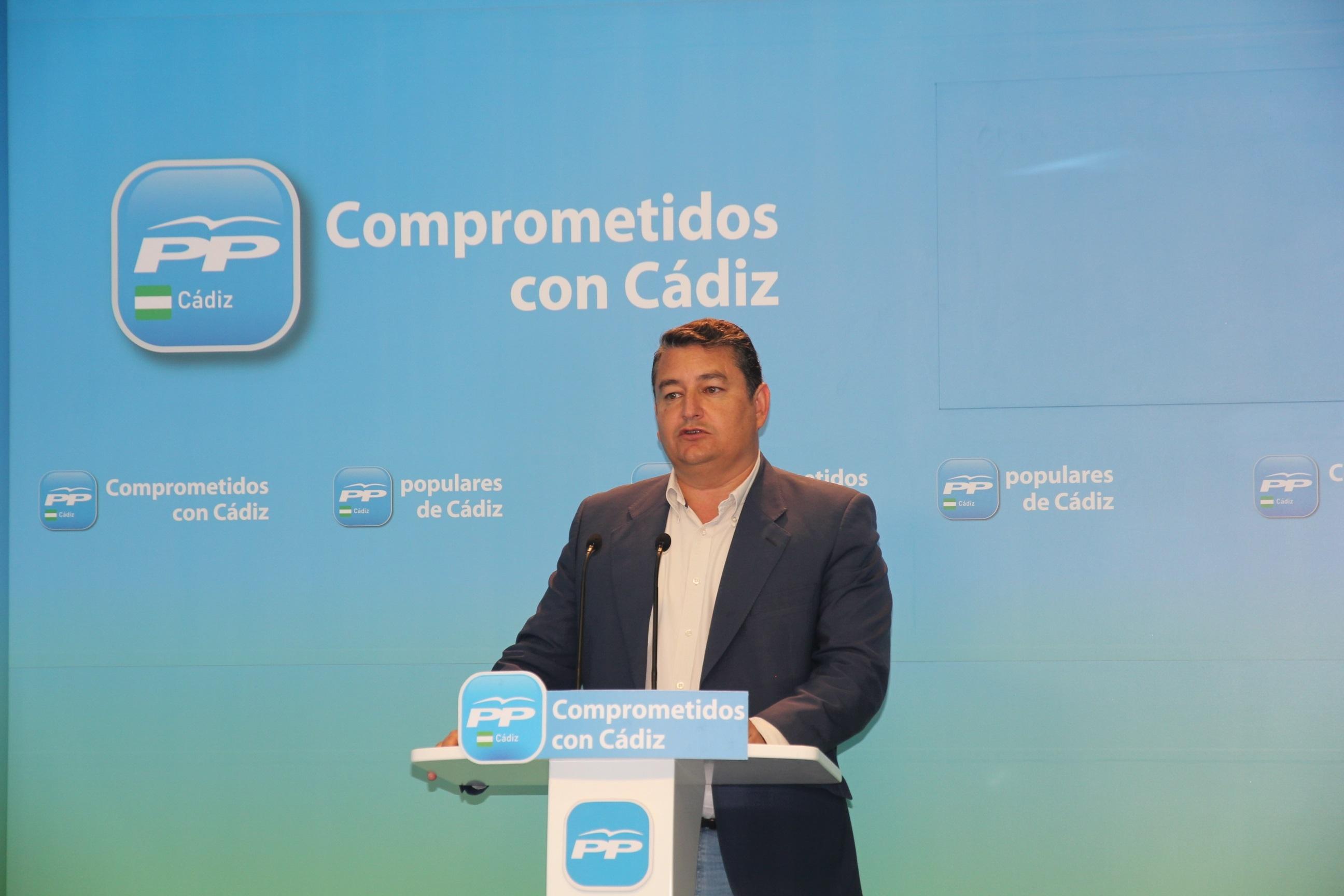 Sanz (PP) considera que Susana Díaz tiene «un master en lo peor del PSOE» y no va a suponer «nada nuevo»