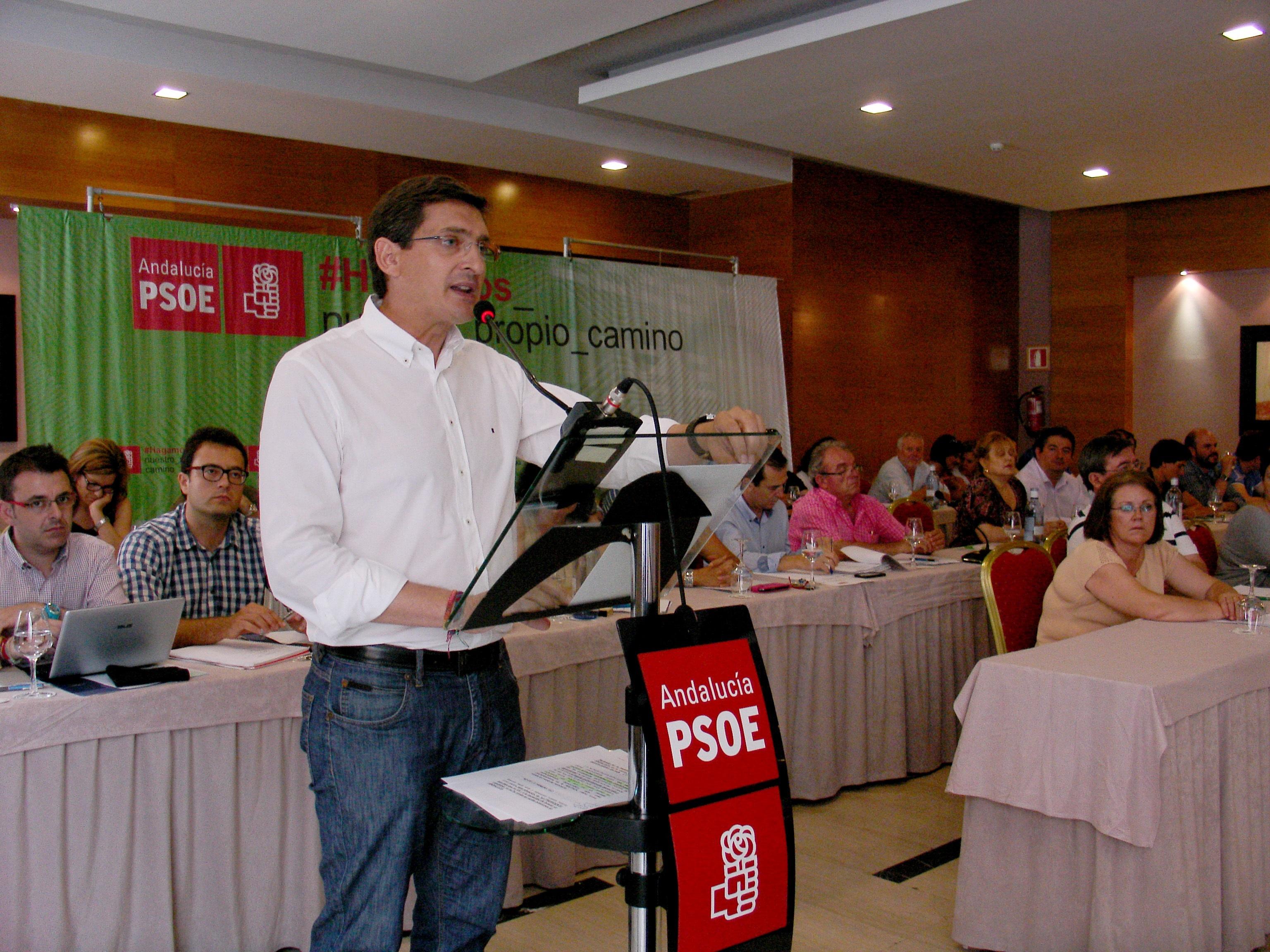 Teruel (PSOE) ve a Díaz «referente» de la «nueva política» y traslada el «apoyo total» de la militancia