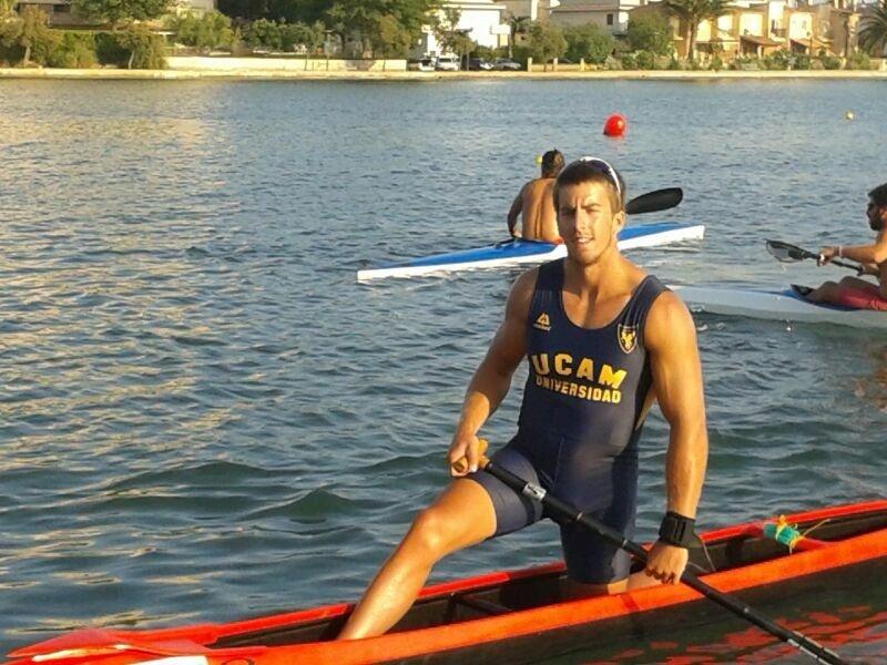 Los piragüistas de la UCAM Paco Cubelos y Sete Benavides aspiran «a todo» en el Campeonato del Mundo