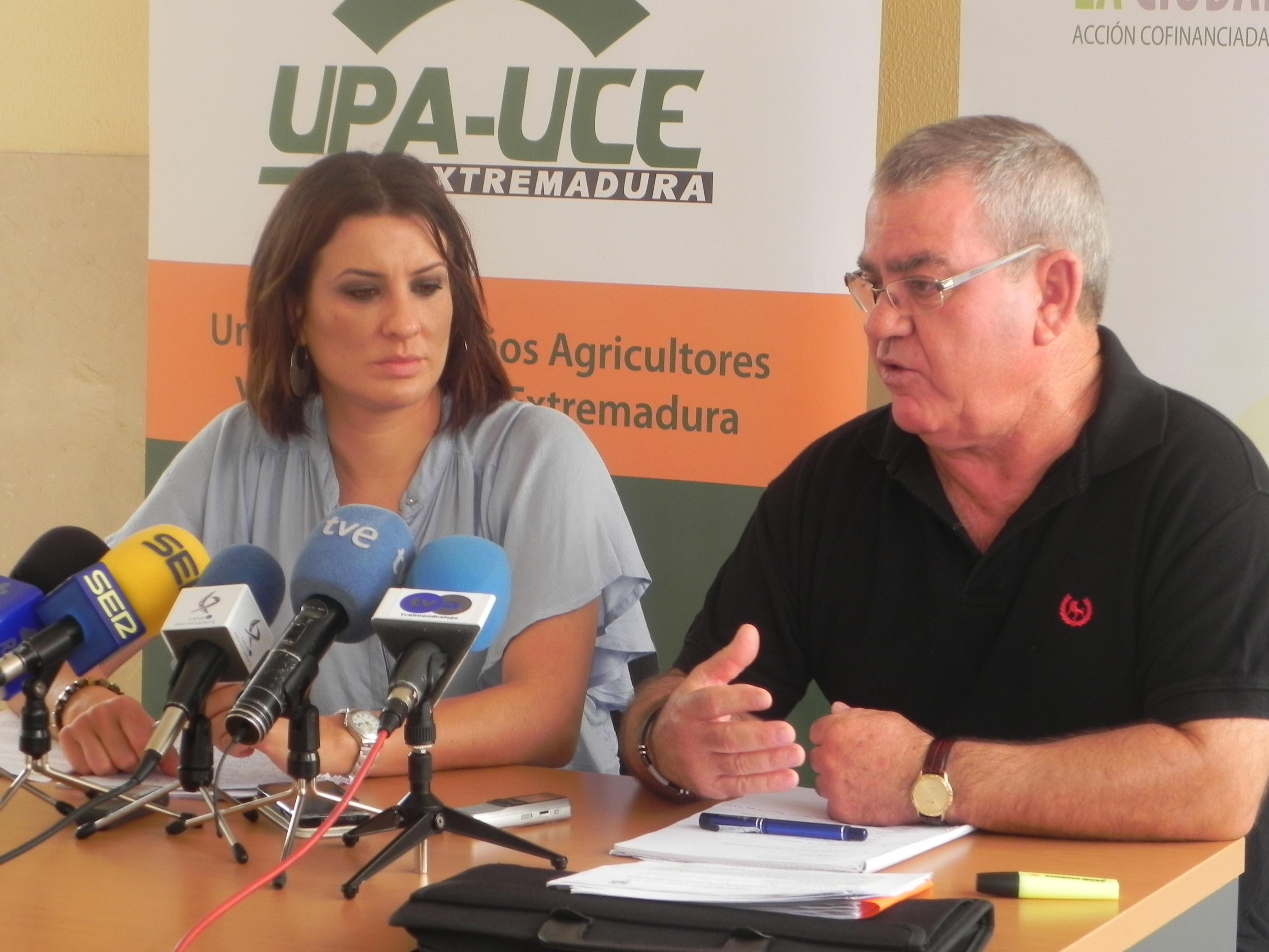 UPA-UCE manifiesta que los agricultores y ganaderos de Extremadura están «preocupados» por la nueva PAC