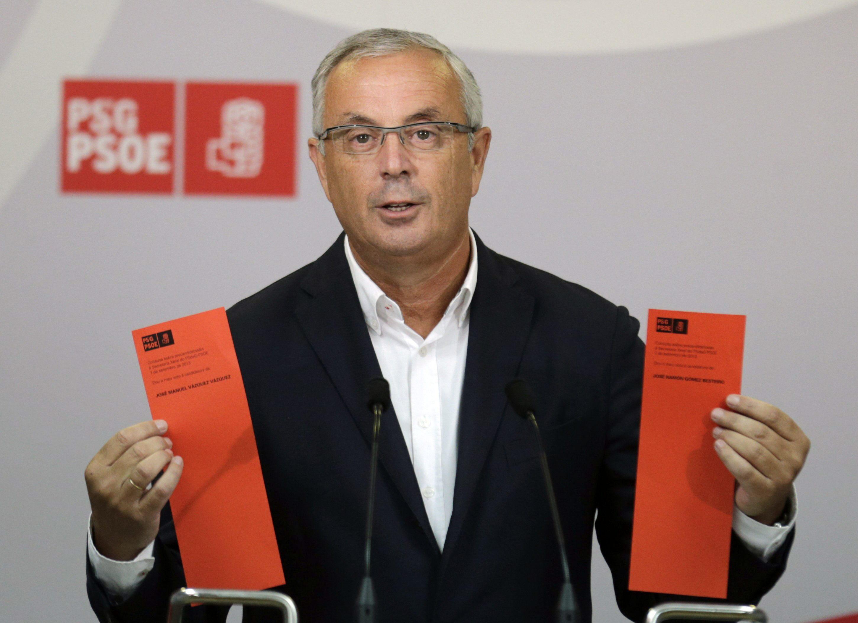 Vázquez, convencido de que las primarias gallegas pueden marcar el rumbo a PSOE y al resto