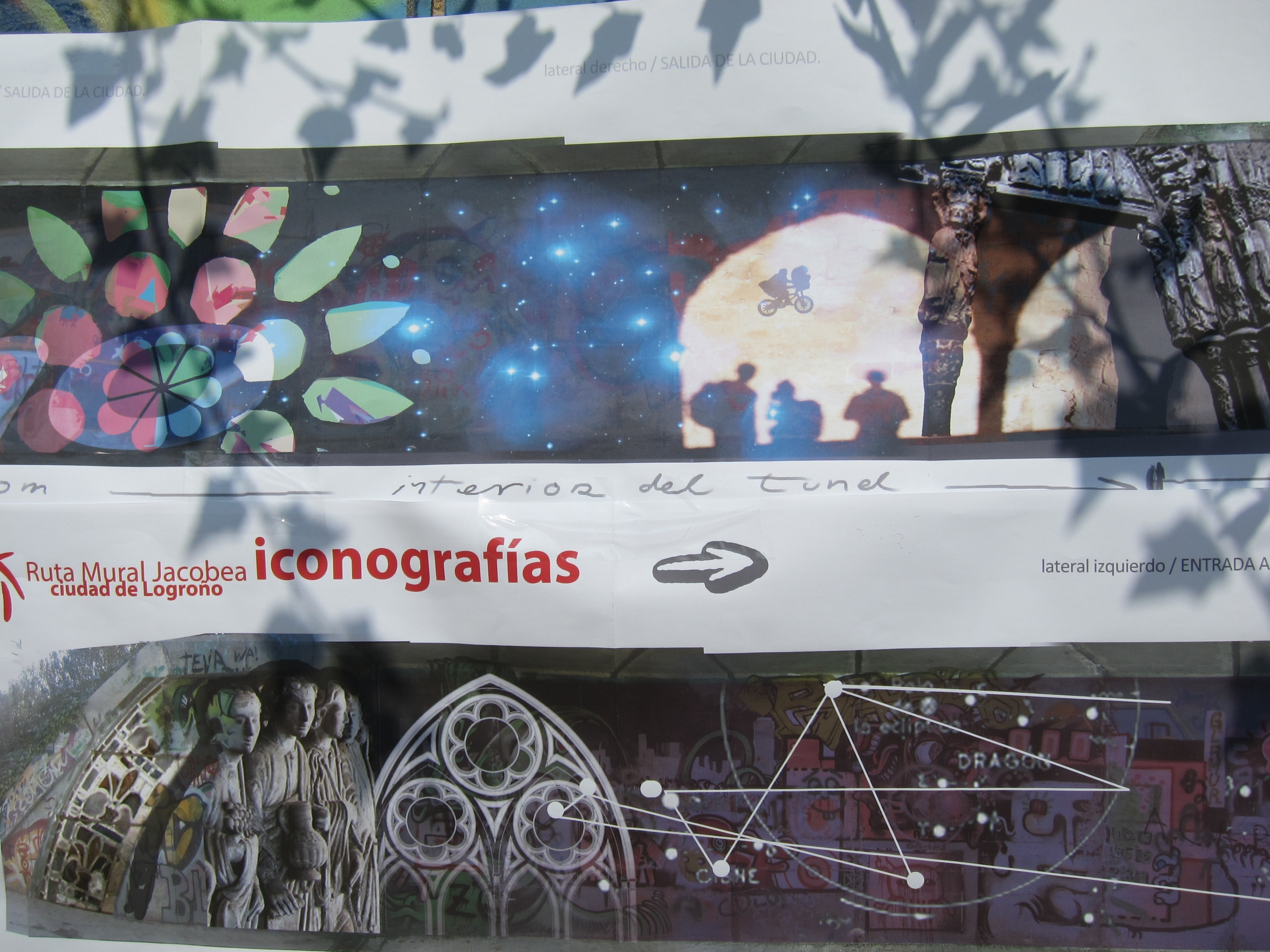El proyecto artístico »Ruta mural jacobea» adornará el Camino de Santiago a su paso por Logroño