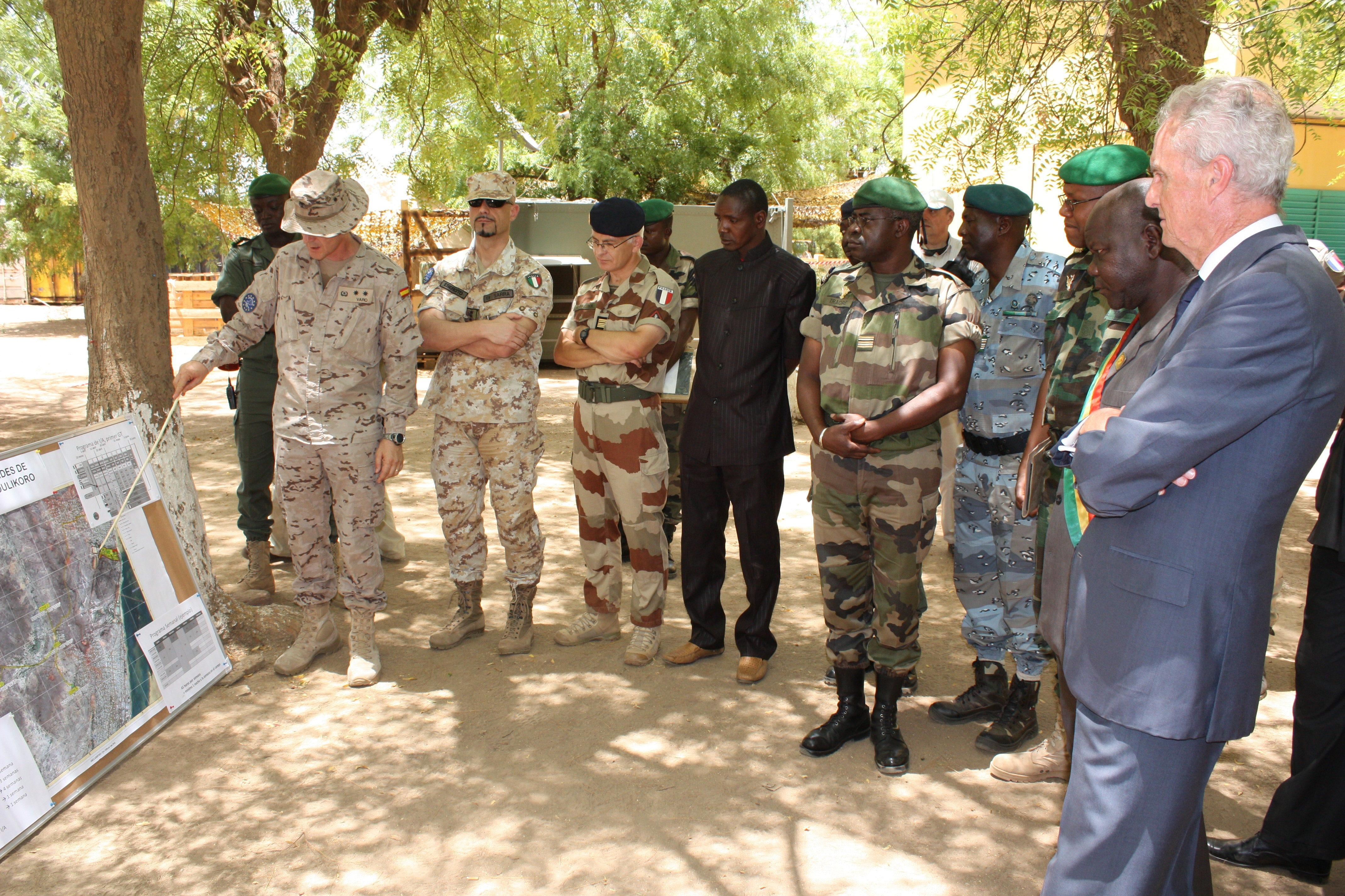 Una decena de militares más se incorporarán a la misión en Mali