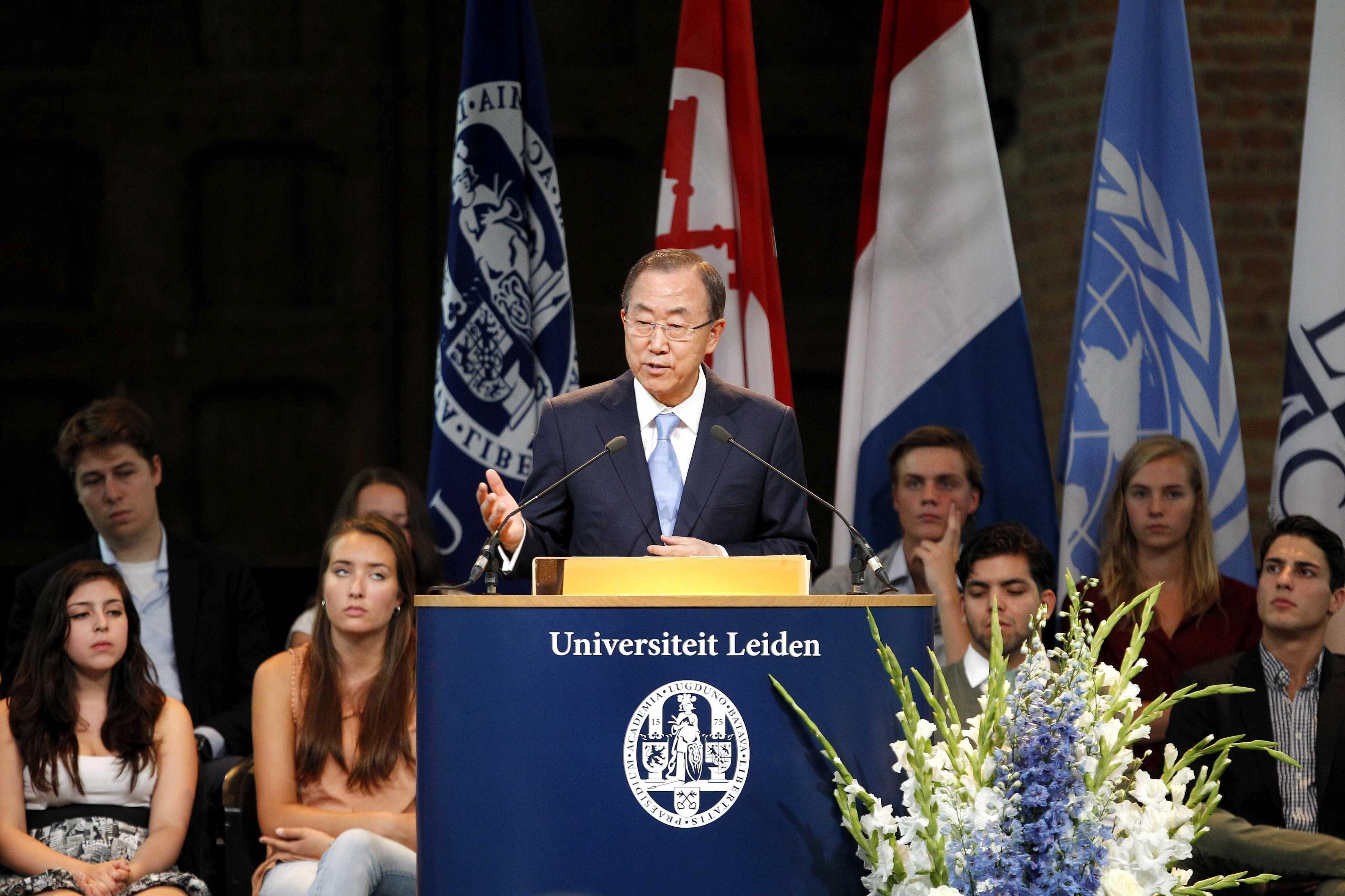 La guerra siria ensombrece el primer centenario del Palacio de la Paz