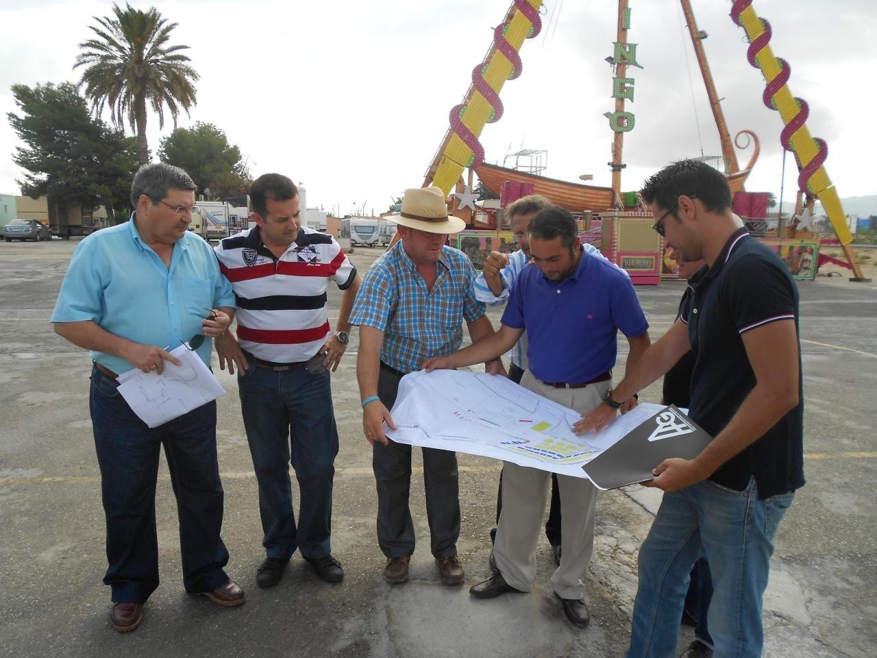 Los recintos de fiestas están preparados para acoger la Feria de Murcia, según el Ayuntamiento