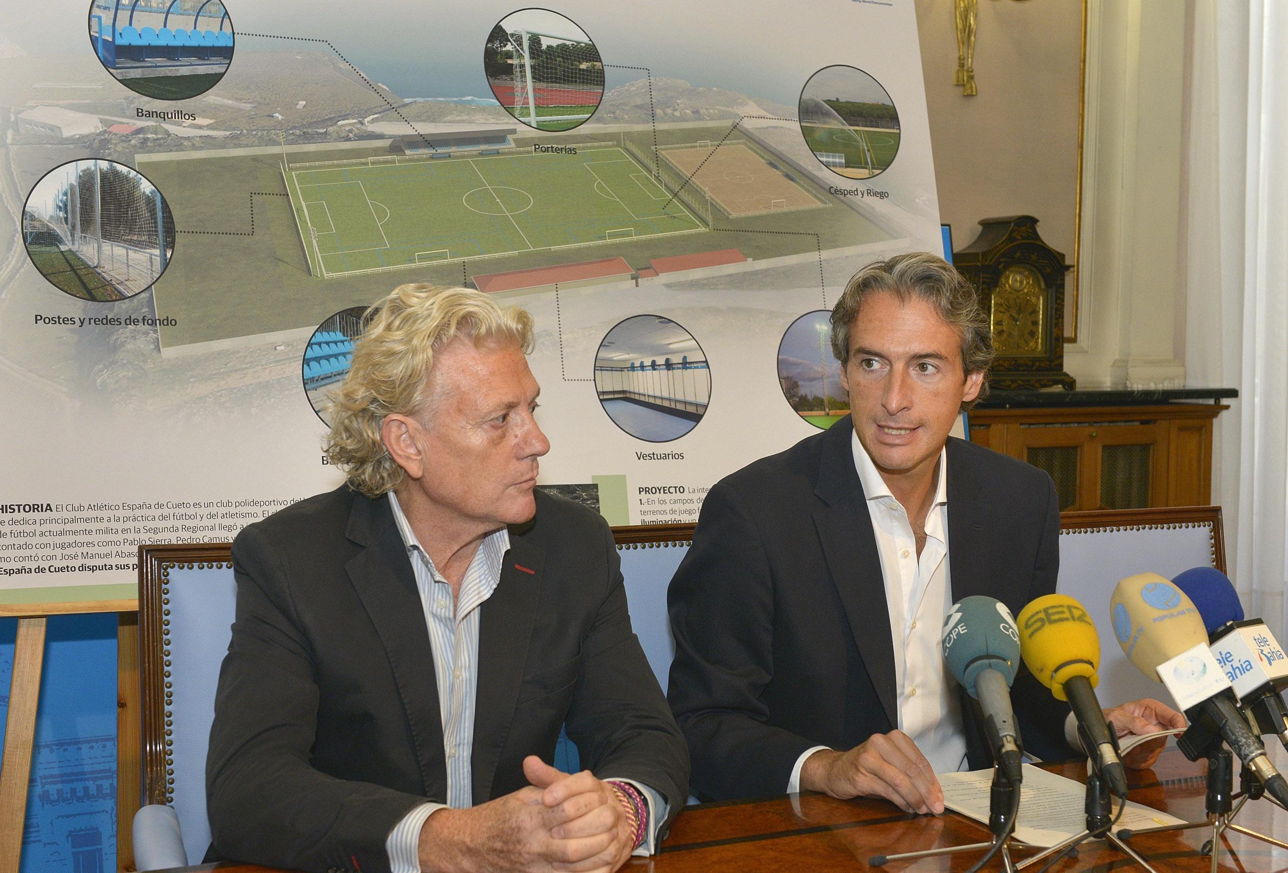 La remodelación del campo de fútbol de Cueto se licitará en septiembre y costará 900.000 euros