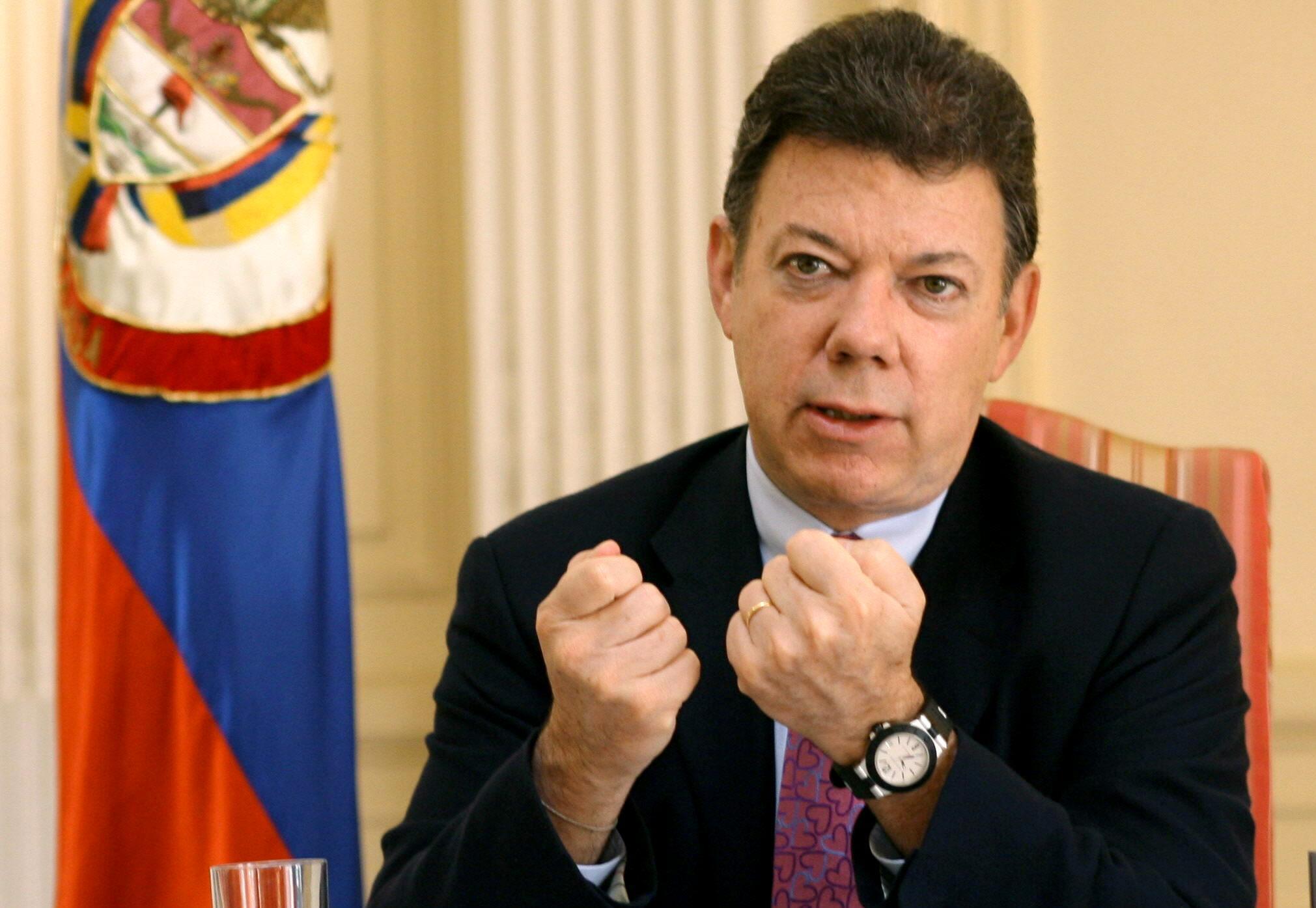 Santos asegura que «el Gobierno está listo» para iniciar un diálogo de paz con el ELN