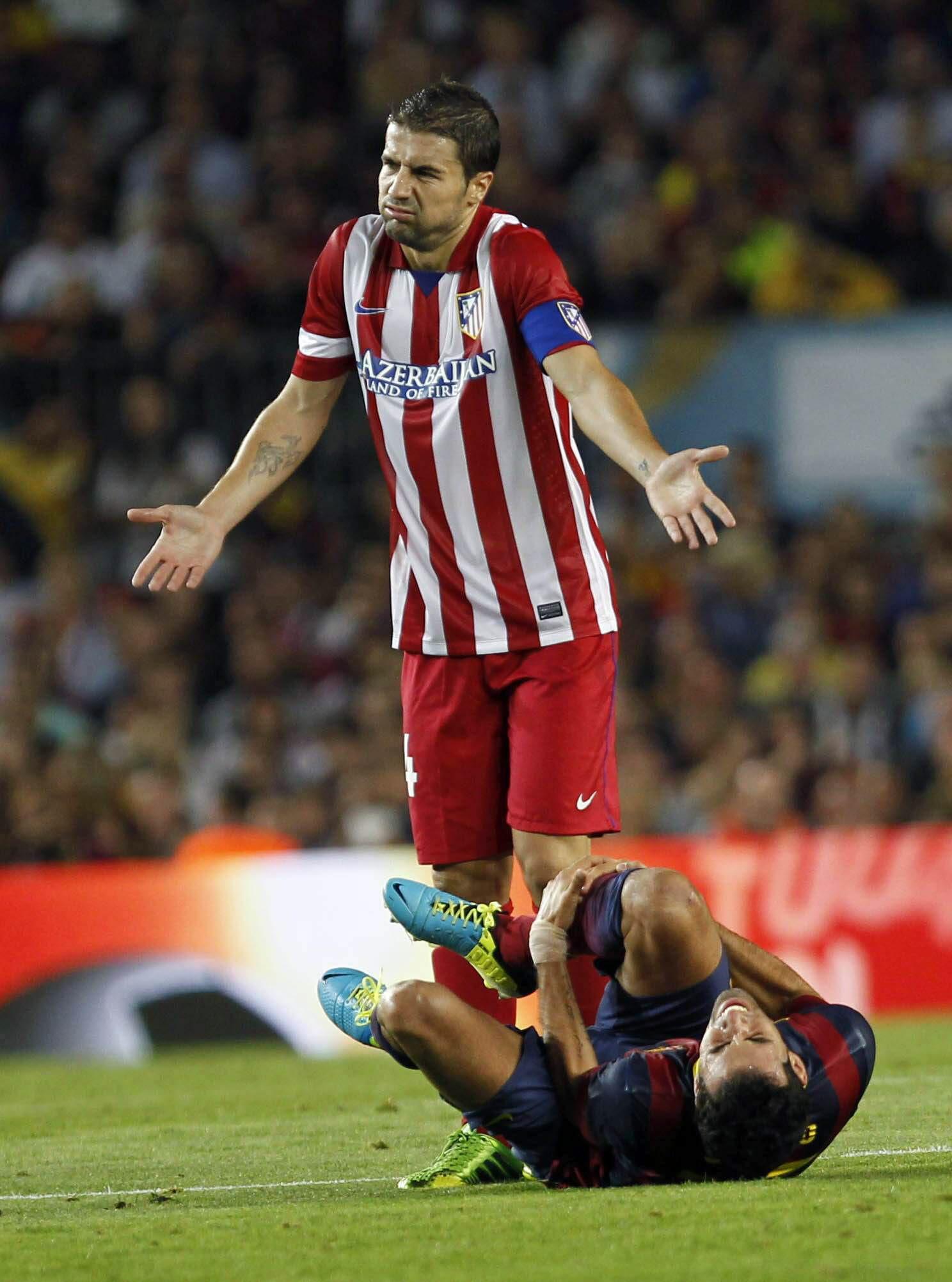 Gabi cree que al Barcelona le ayudó hablar del árbitro antes del partido