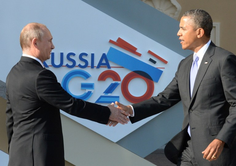 Putin pide a Obama una renuncia pública de no atacar Siria