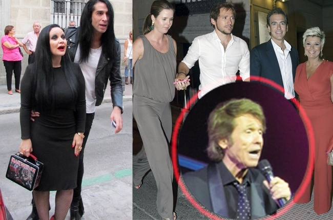 Amelia Bono, Toni Acosta, María Teresa Campos, Alaska y Mario y Roberto Torreta han acudido al concierto de Raphael