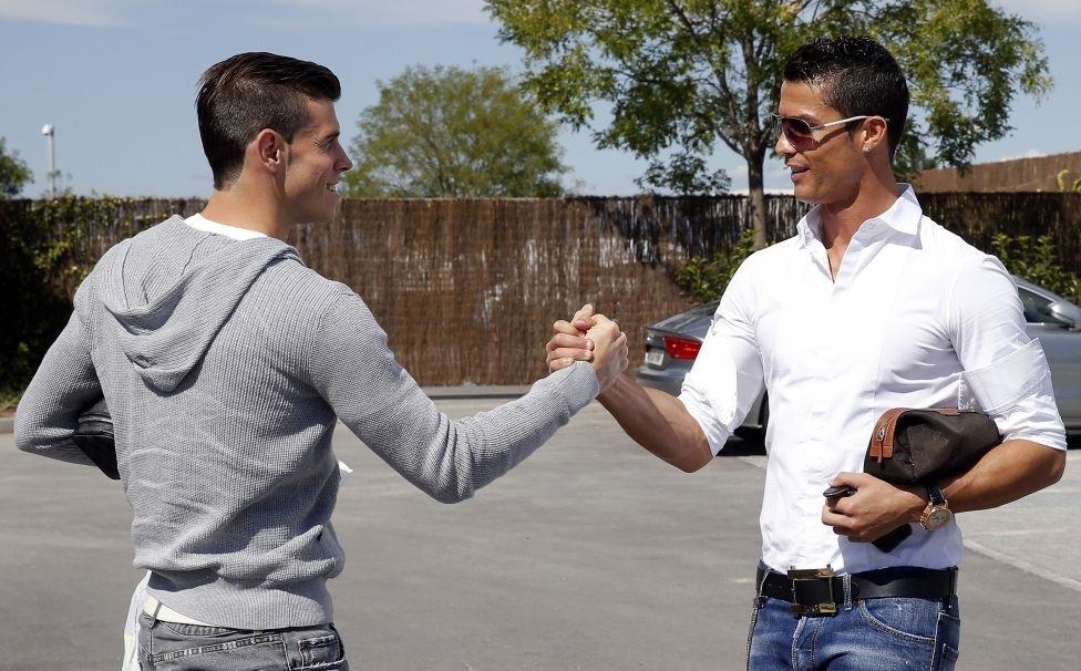 Bale se entrena por primera vez con el Real Madrid