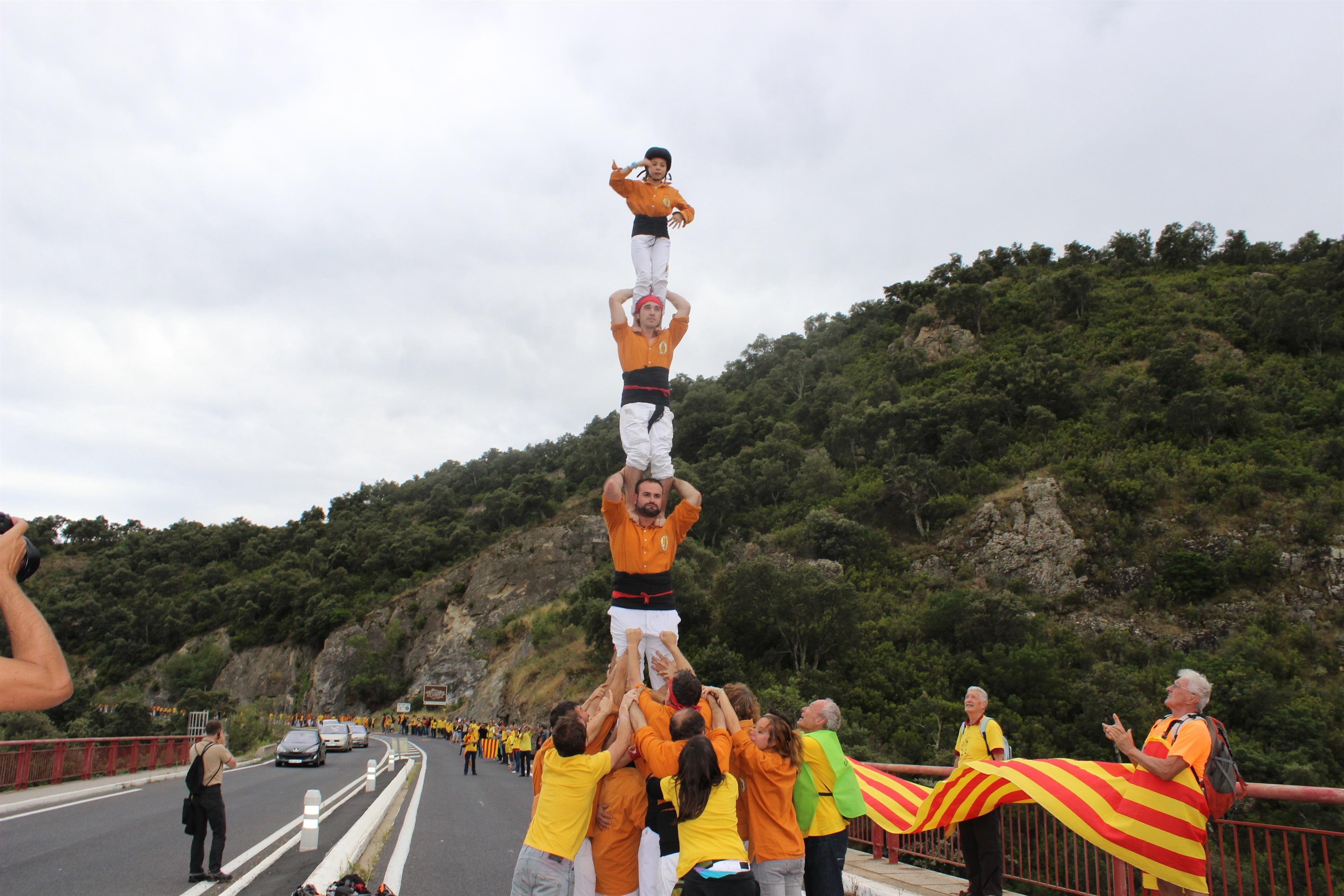 La reivindicación de la 'Cataluña Norte', en el sur de Francia, se une a la Via Catalana