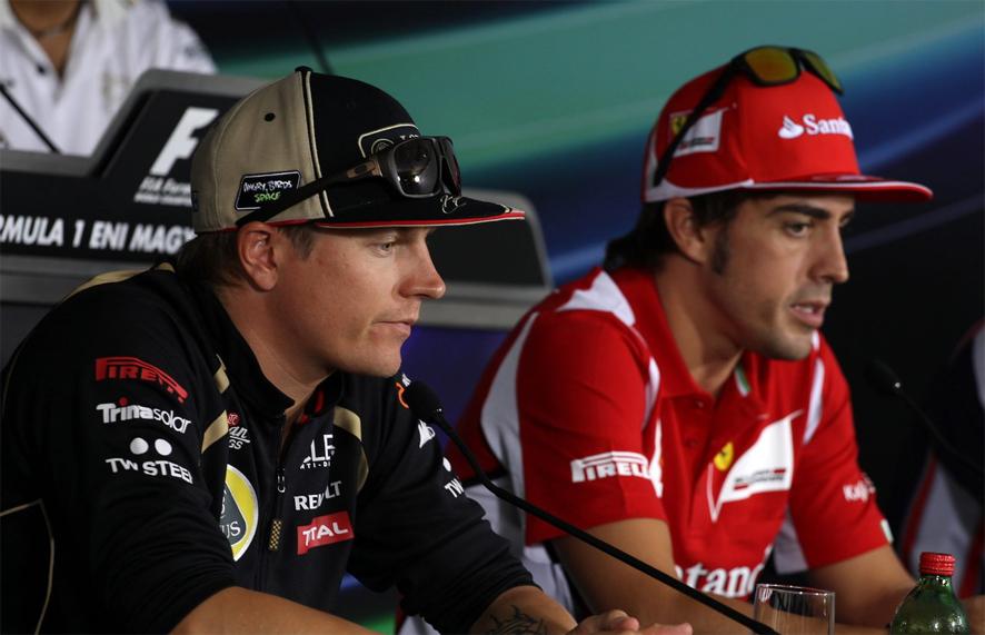 Raikkonen se muestra impaciente por trabajar con Alonso y el asturiano le da la bienvenida a »su nuevo compañero de viaje»