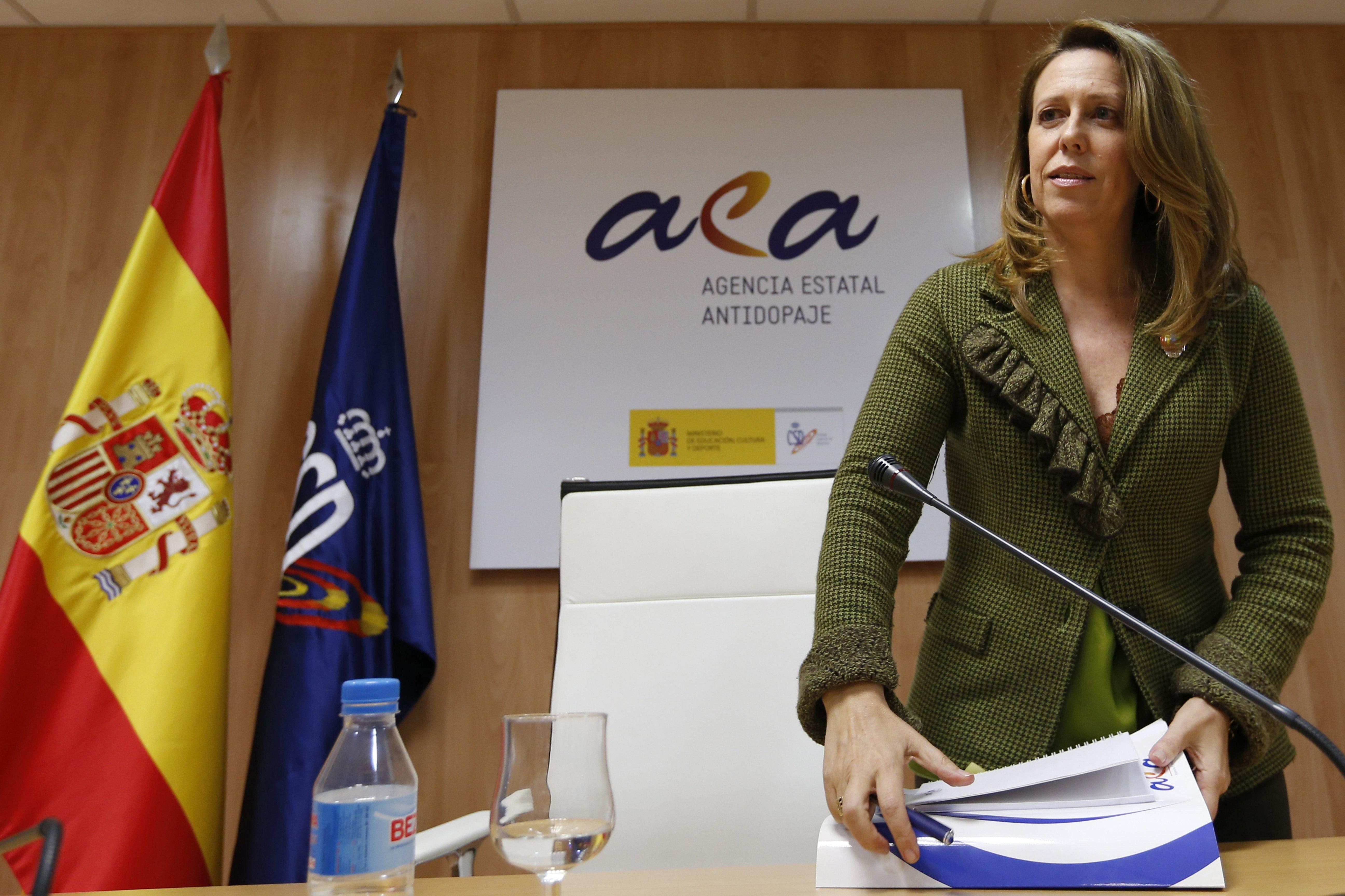 Ana Muñoz confirma los resultados adversos de atletas, pero no da nombres