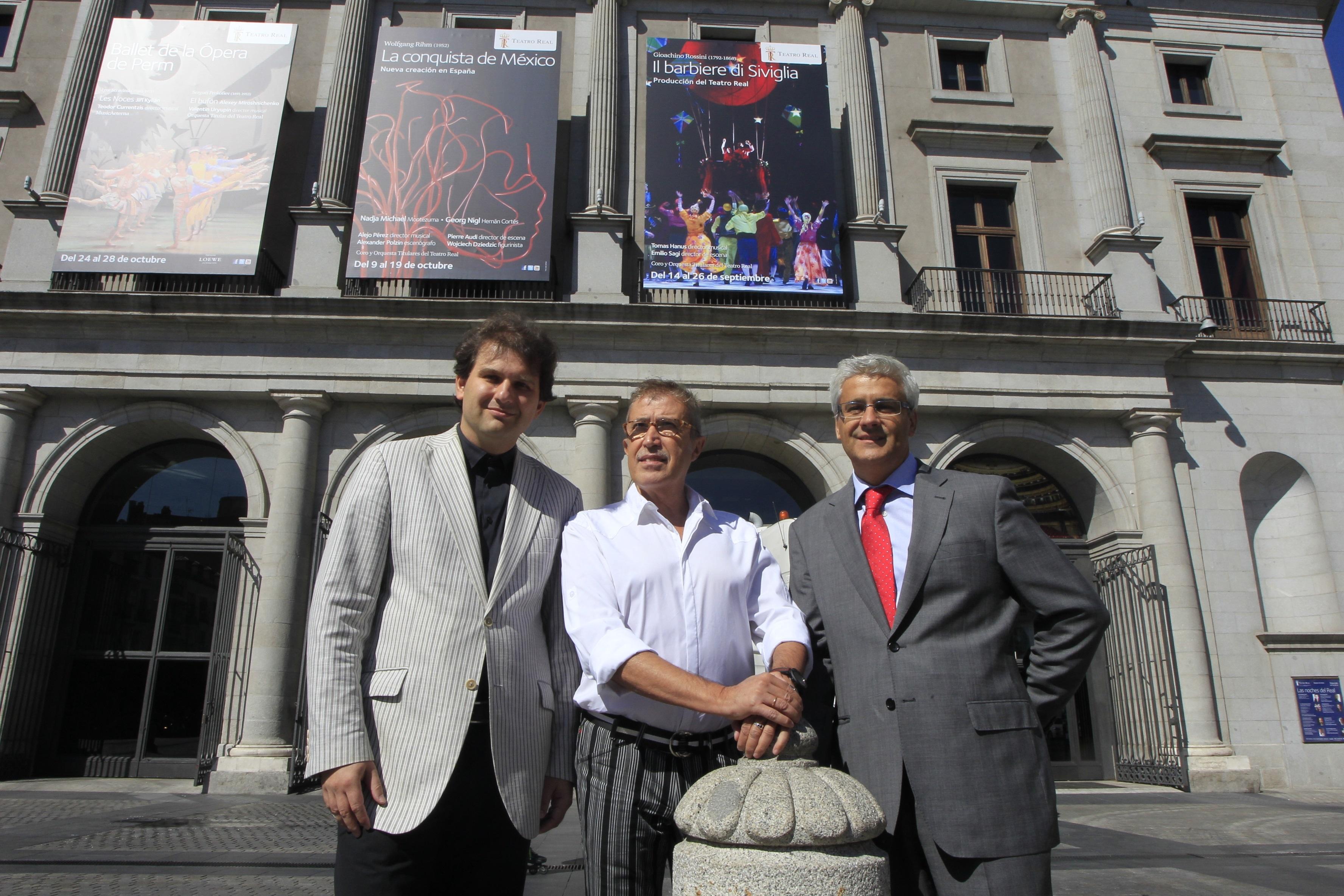 »El Barbero de Sevilla» abre la temporada del Teatro Real