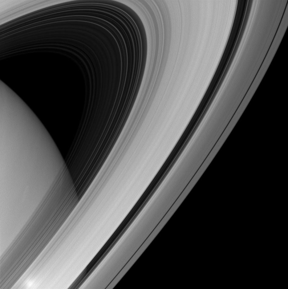 »Cassini» capta al detalle los anillos de Saturno