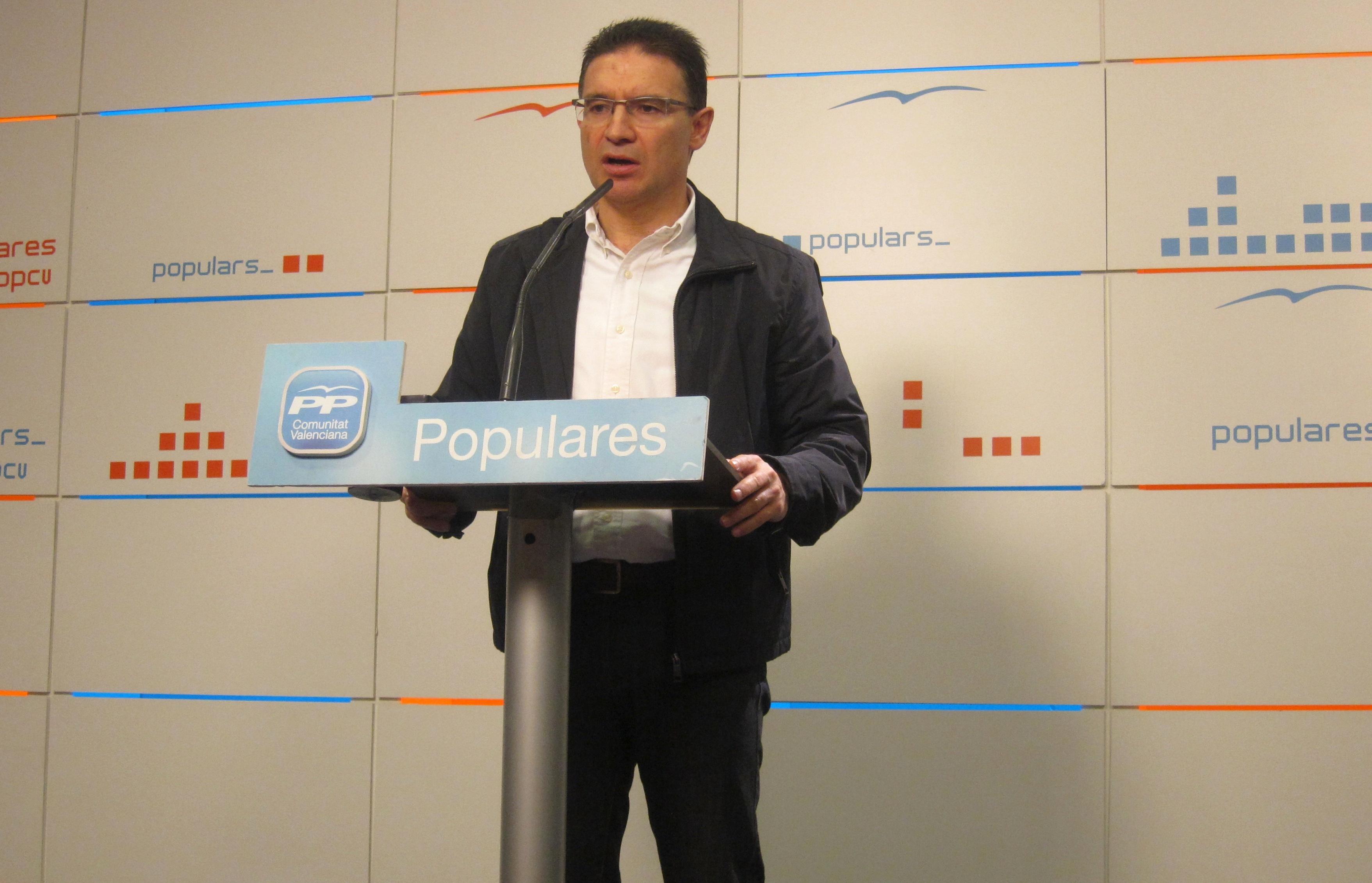 Castellano pide a Puig que aclare «si se ha vendido a sus socios del tripartito» y al proyecto de los »Països Catalans»