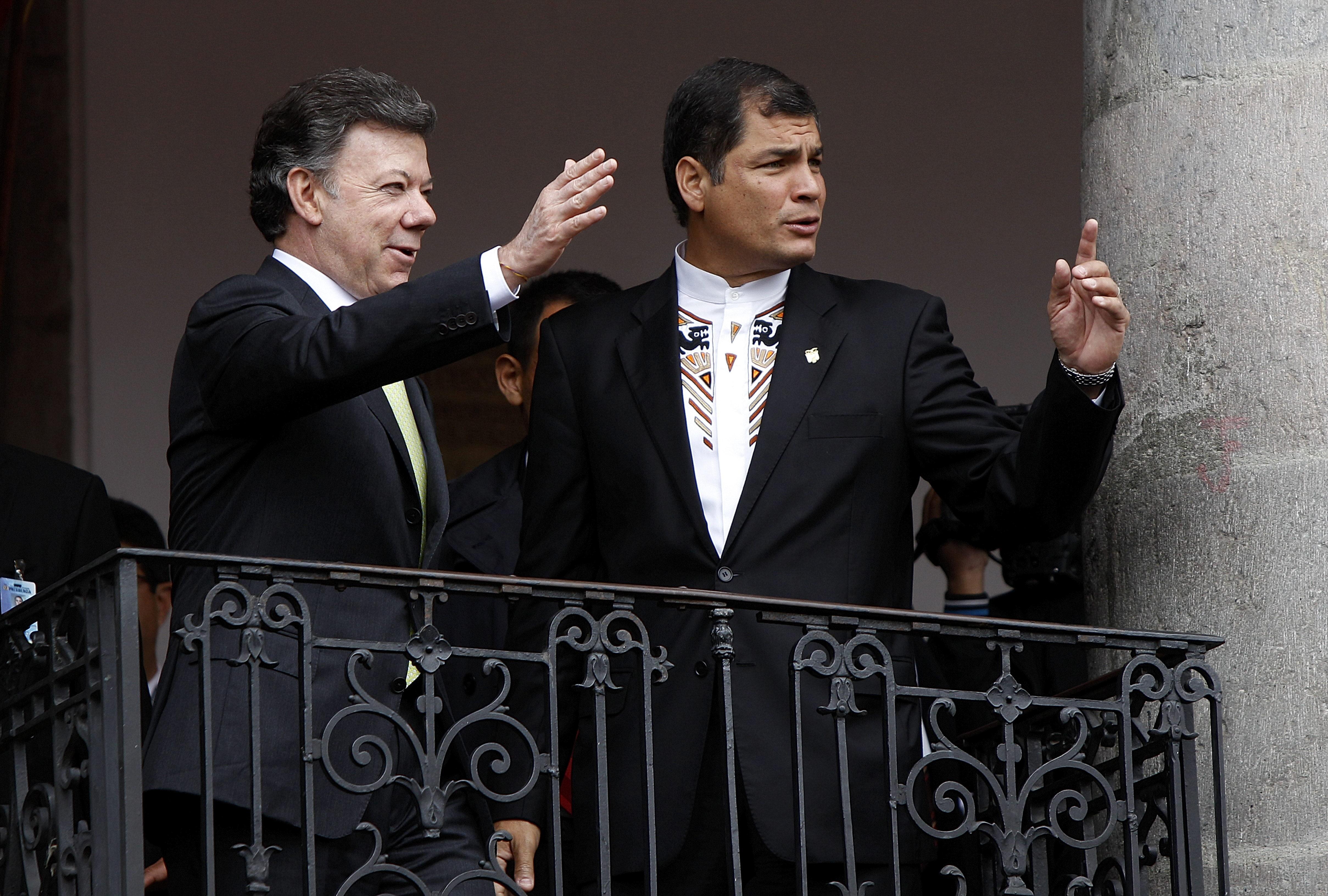 Colombia y Ecuador llegan en La Haya a acuerdo sobre fumigaciones en frontera